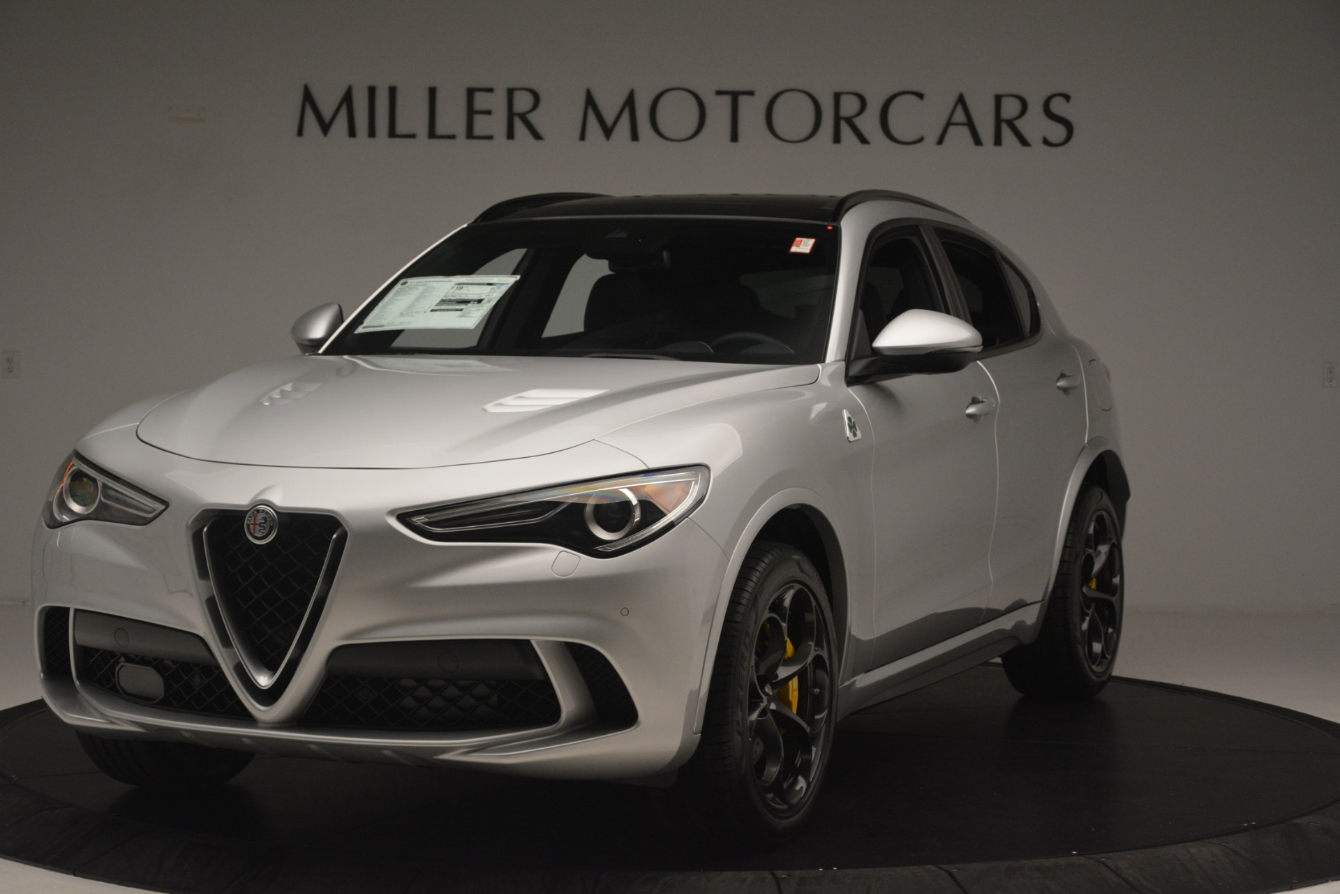 New 2019 Alfa Romeo Stelvio Quadrifoglio For Sale In Westport, CT 3037_main