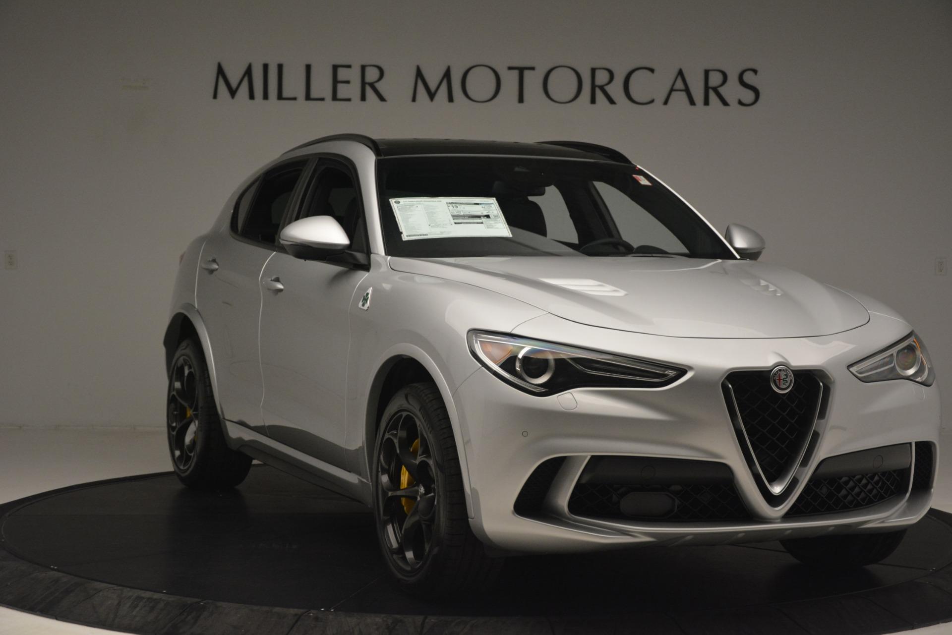 New 2019 Alfa Romeo Stelvio Quadrifoglio For Sale In Westport, CT 3037_p11