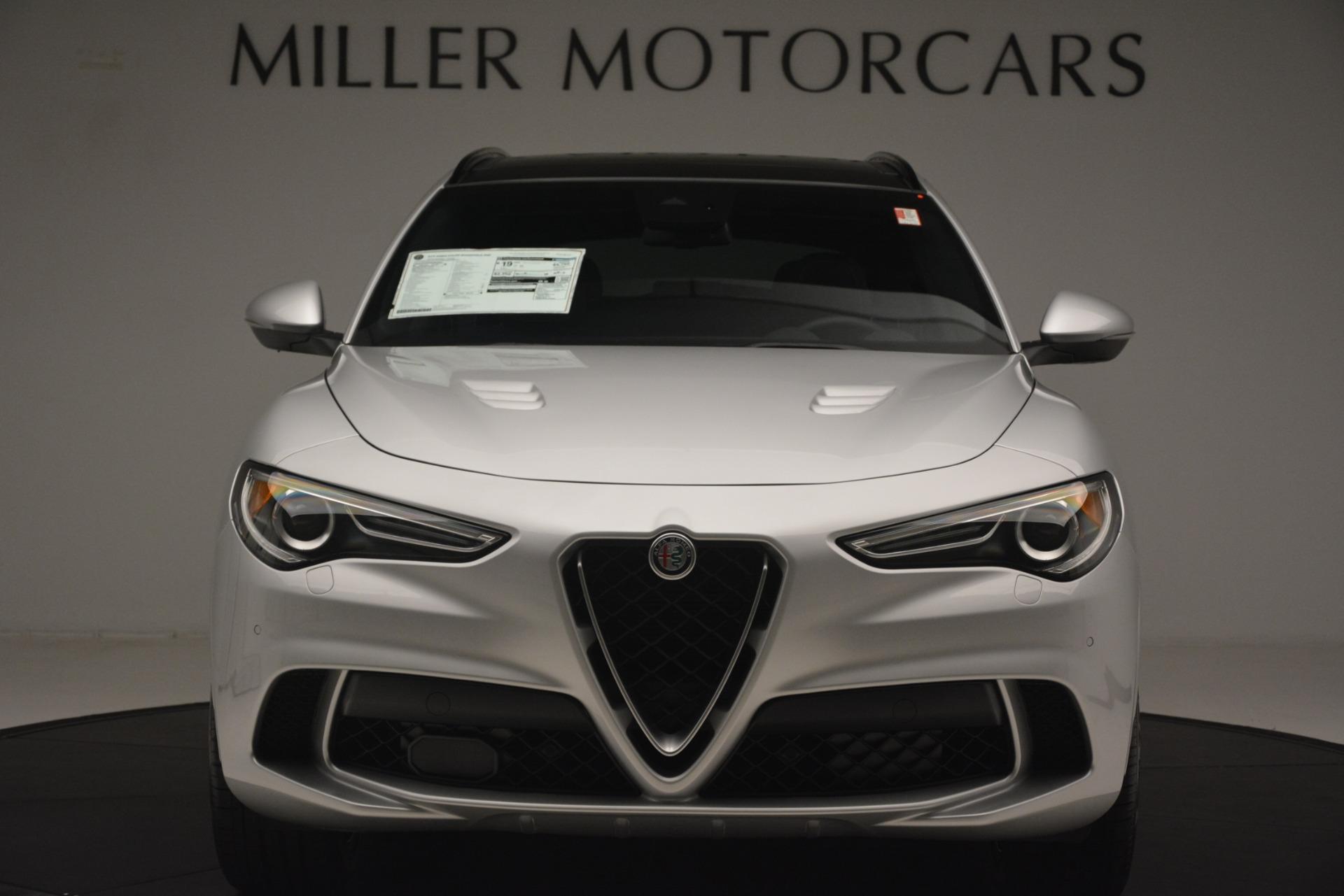 New 2019 Alfa Romeo Stelvio Quadrifoglio For Sale In Westport, CT 3037_p12