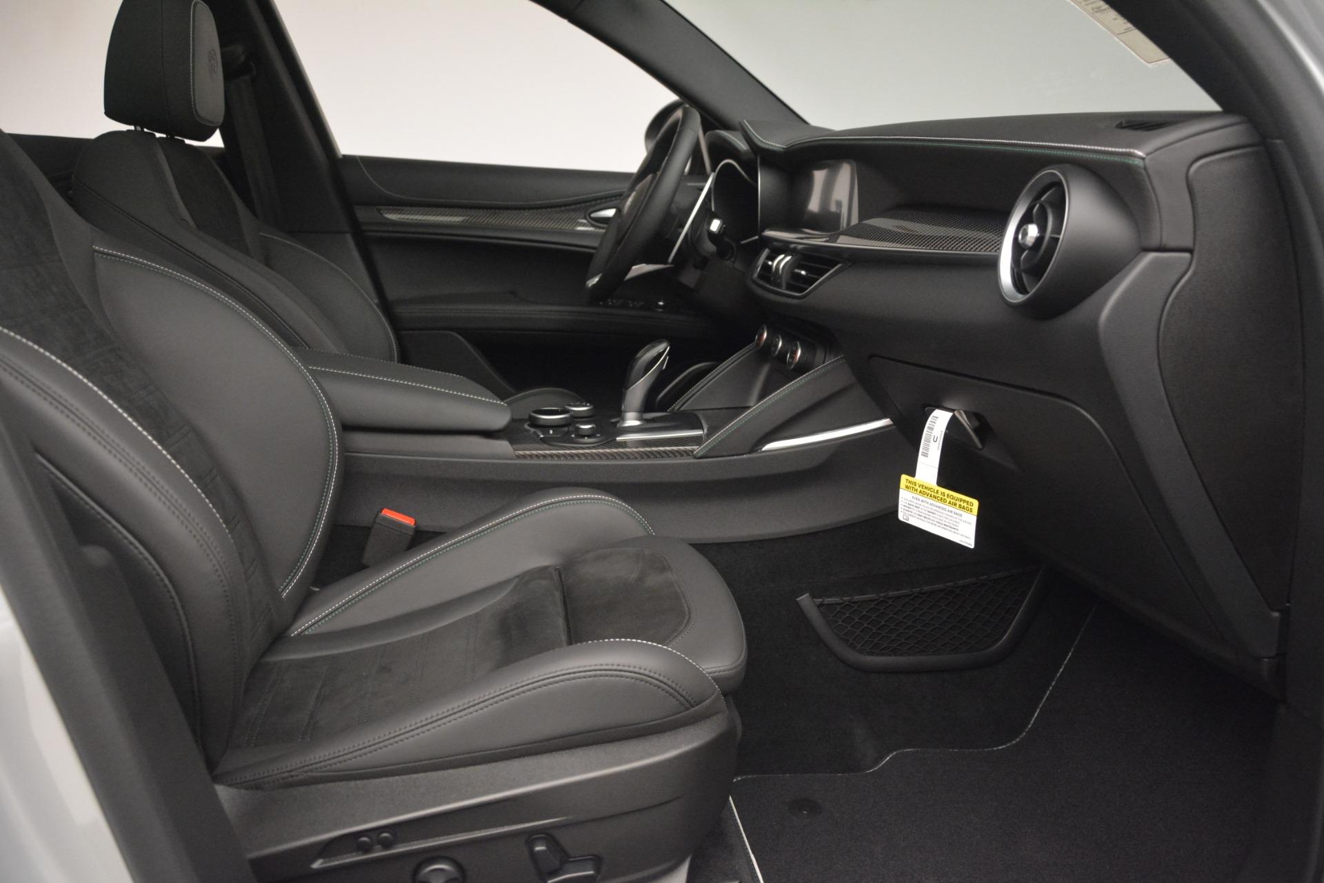 New 2019 Alfa Romeo Stelvio Quadrifoglio For Sale In Westport, CT 3037_p23