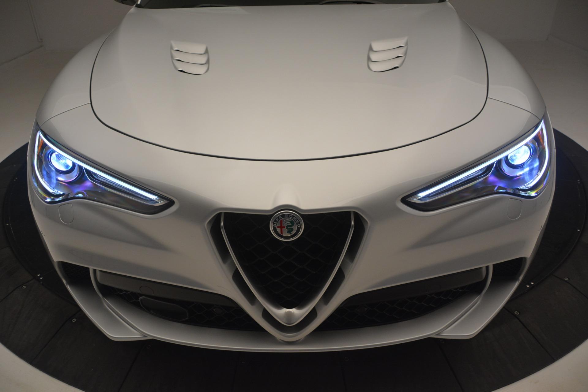 New 2019 Alfa Romeo Stelvio Quadrifoglio For Sale In Westport, CT 3037_p33