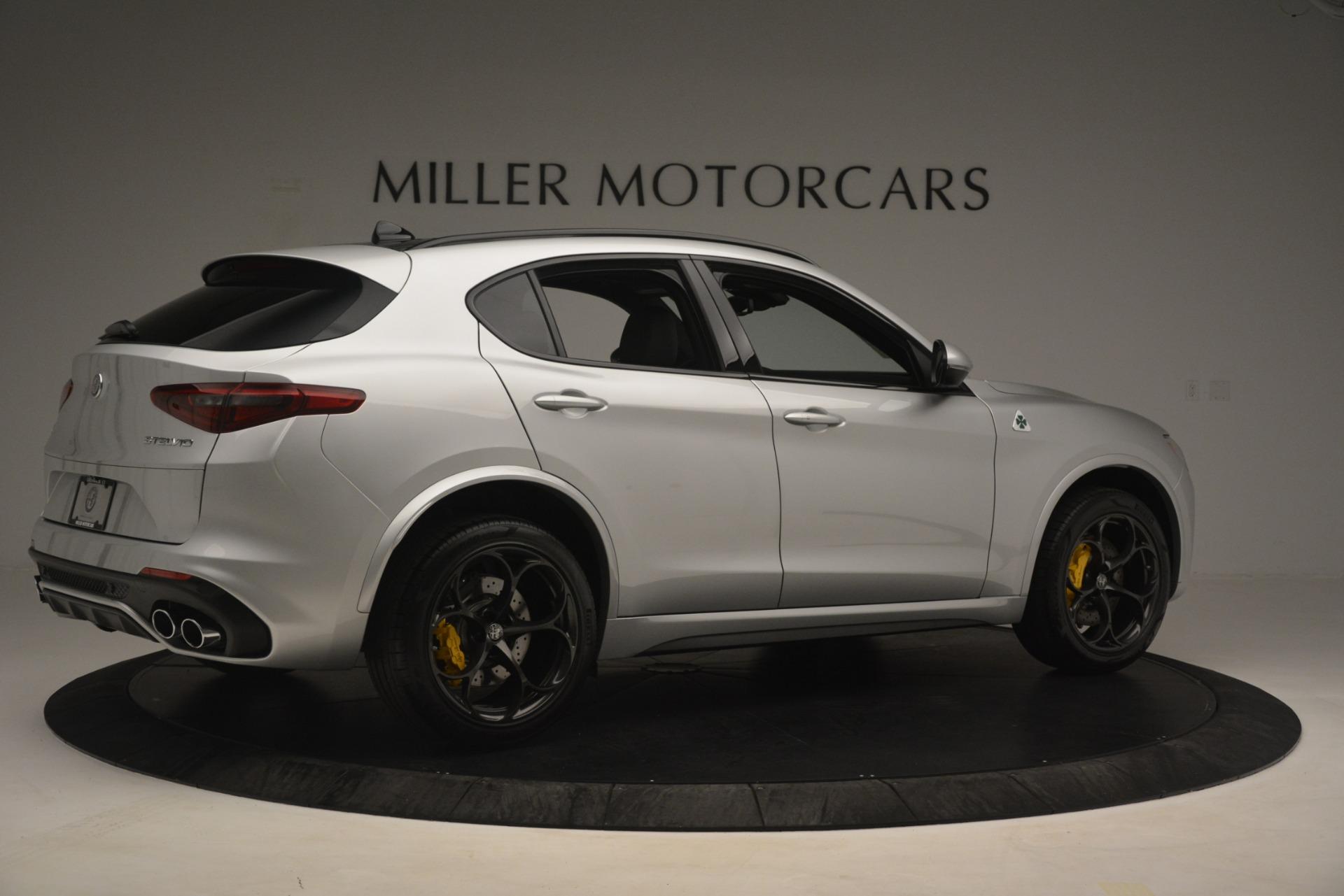 New 2019 Alfa Romeo Stelvio Quadrifoglio For Sale In Westport, CT 3037_p8