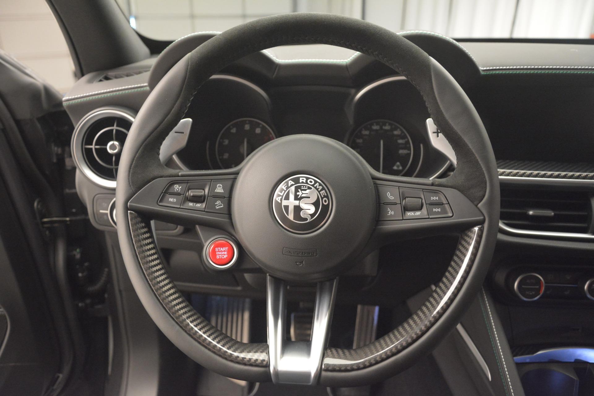New 2019 Alfa Romeo Stelvio Quadrifoglio For Sale In Westport, CT 3038_p18