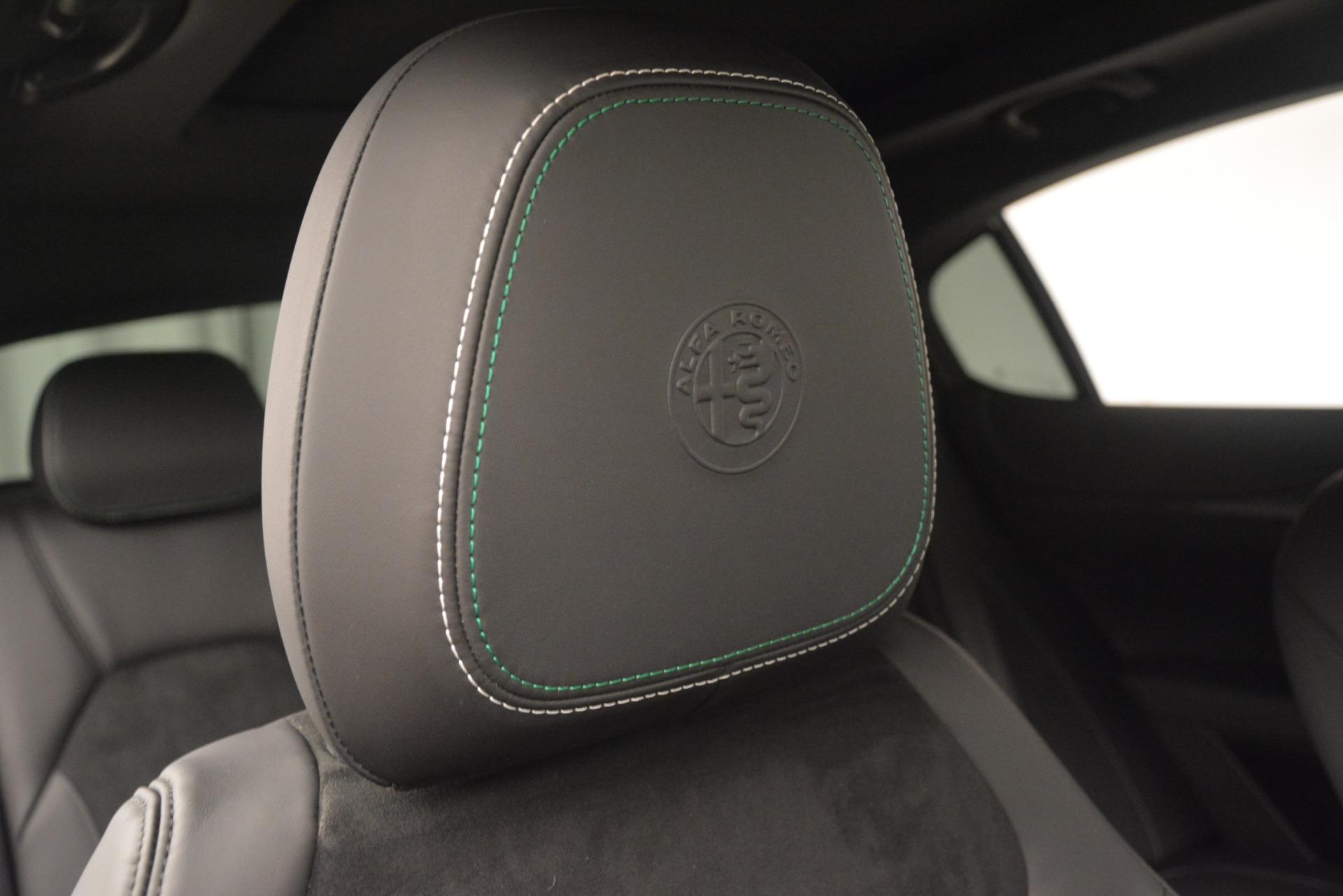 New 2019 Alfa Romeo Stelvio Quadrifoglio For Sale In Westport, CT 3038_p34