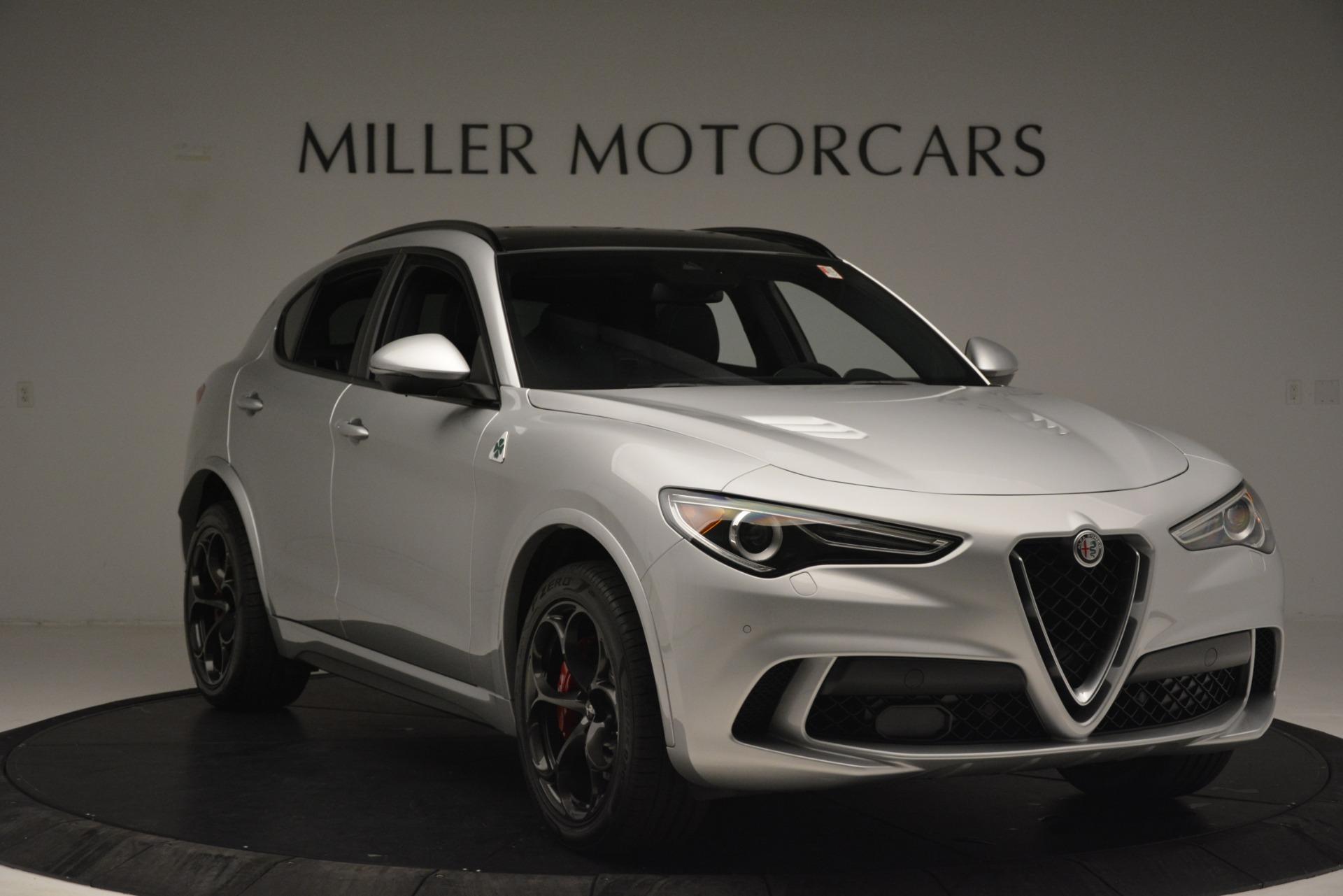 New 2019 Alfa Romeo Stelvio Quadrifoglio For Sale In Westport, CT 3039_p11