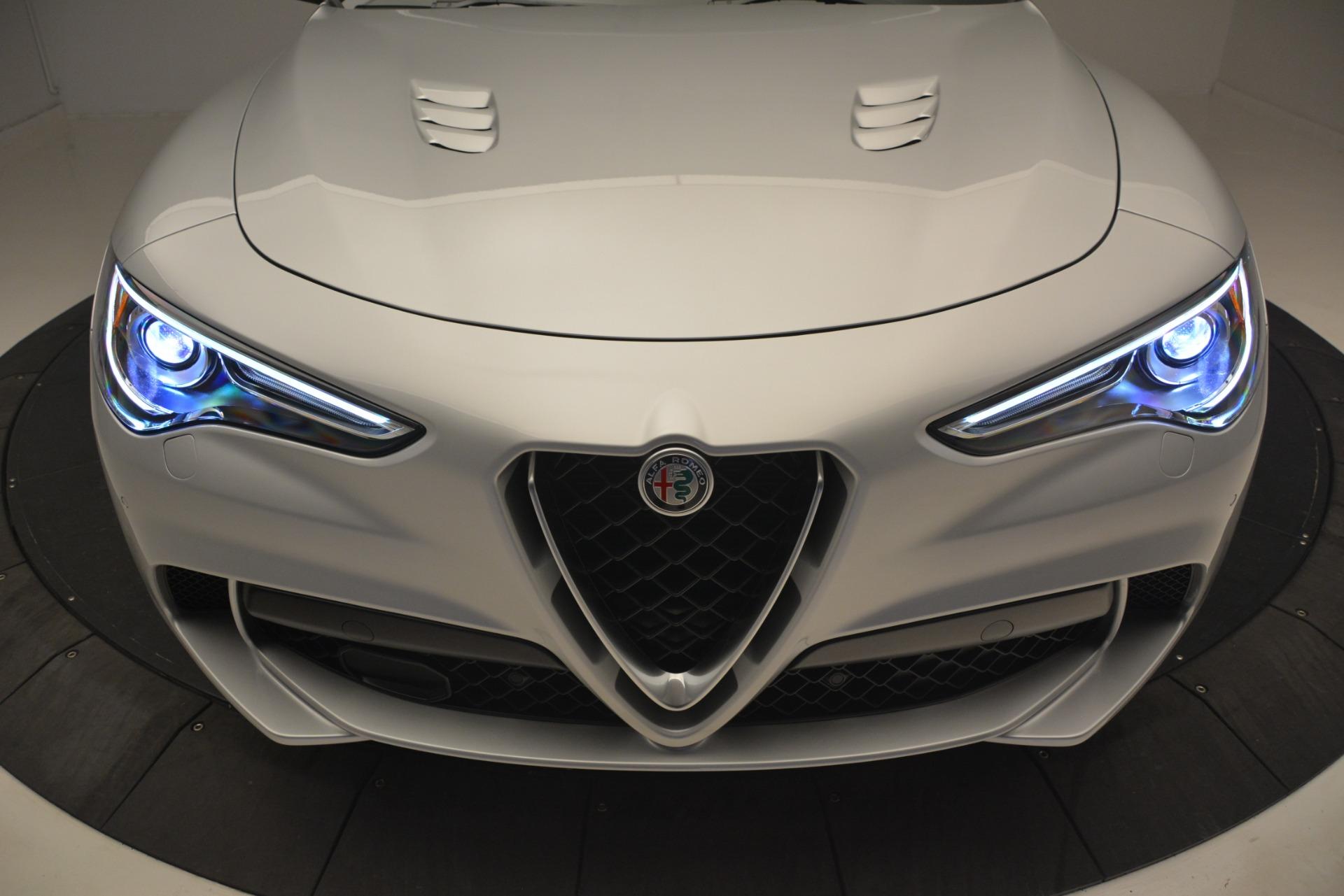 New 2019 Alfa Romeo Stelvio Quadrifoglio For Sale In Westport, CT 3039_p35