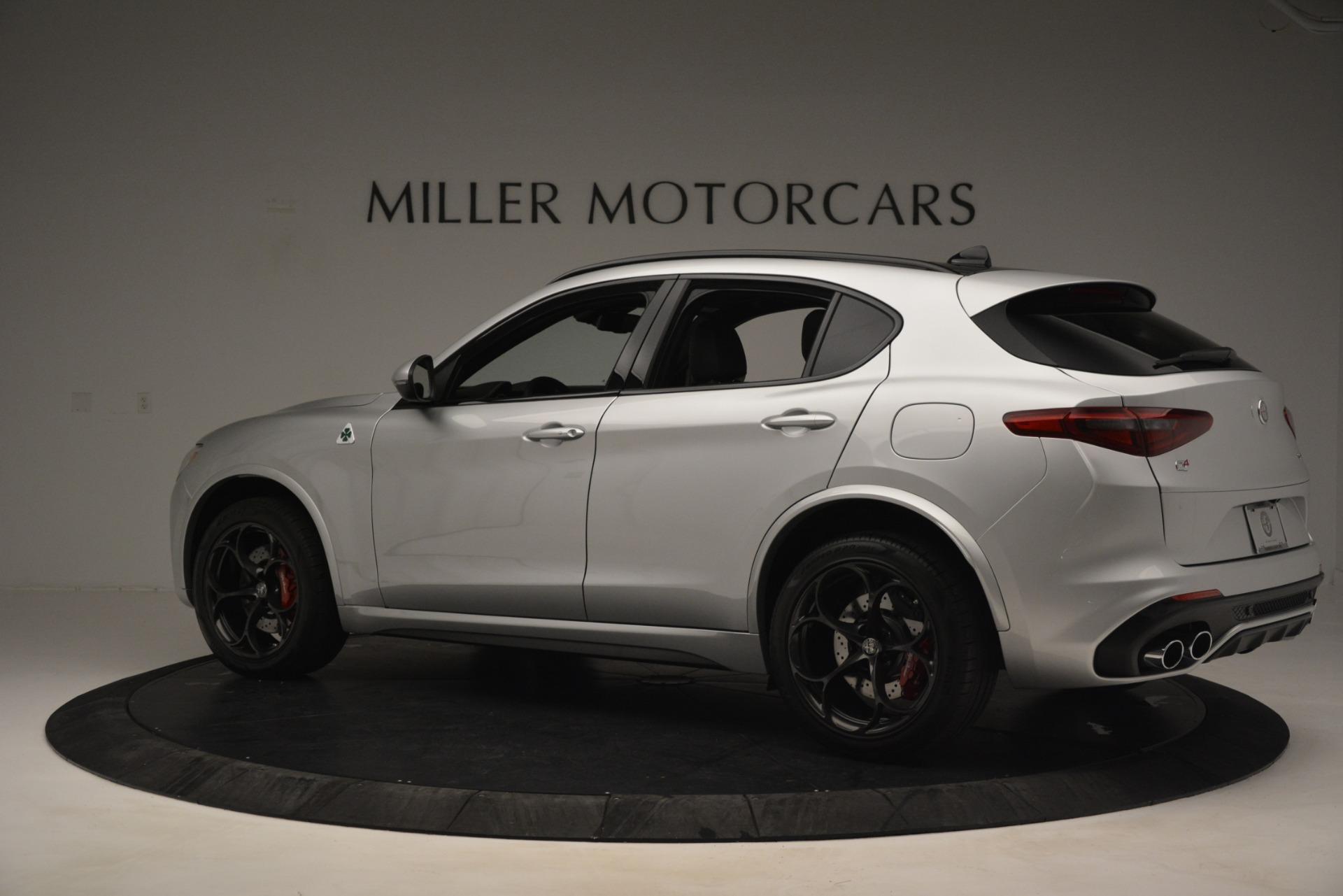 New 2019 Alfa Romeo Stelvio Quadrifoglio For Sale In Westport, CT 3039_p4