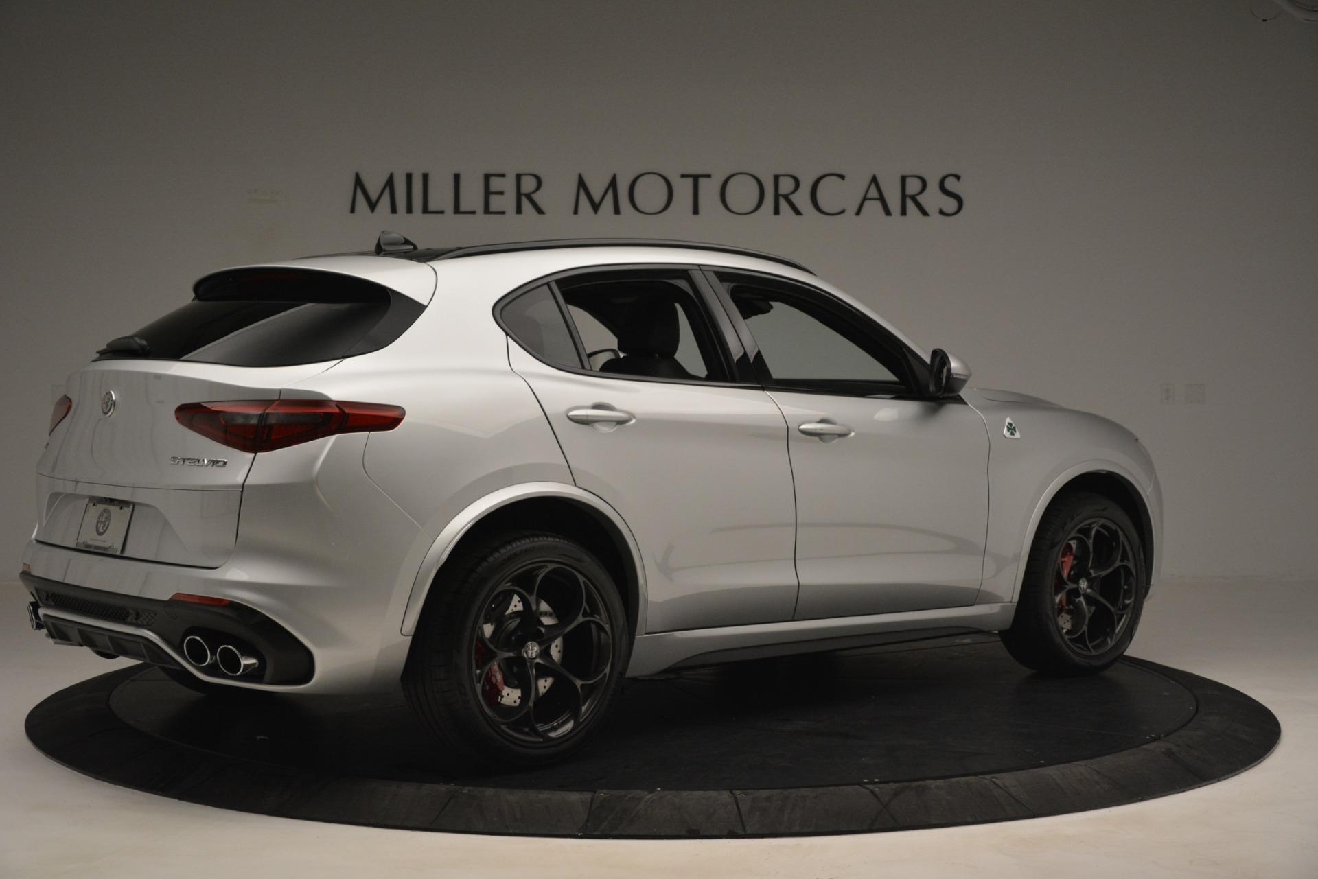 New 2019 Alfa Romeo Stelvio Quadrifoglio For Sale In Westport, CT 3039_p8