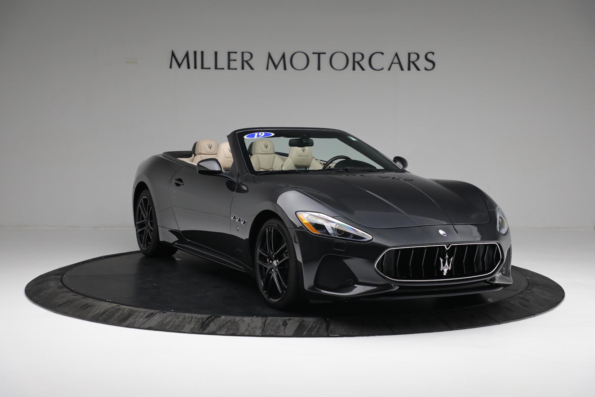 New 2019 Maserati GranTurismo Sport Convertible For Sale In Westport, CT 3040_p11