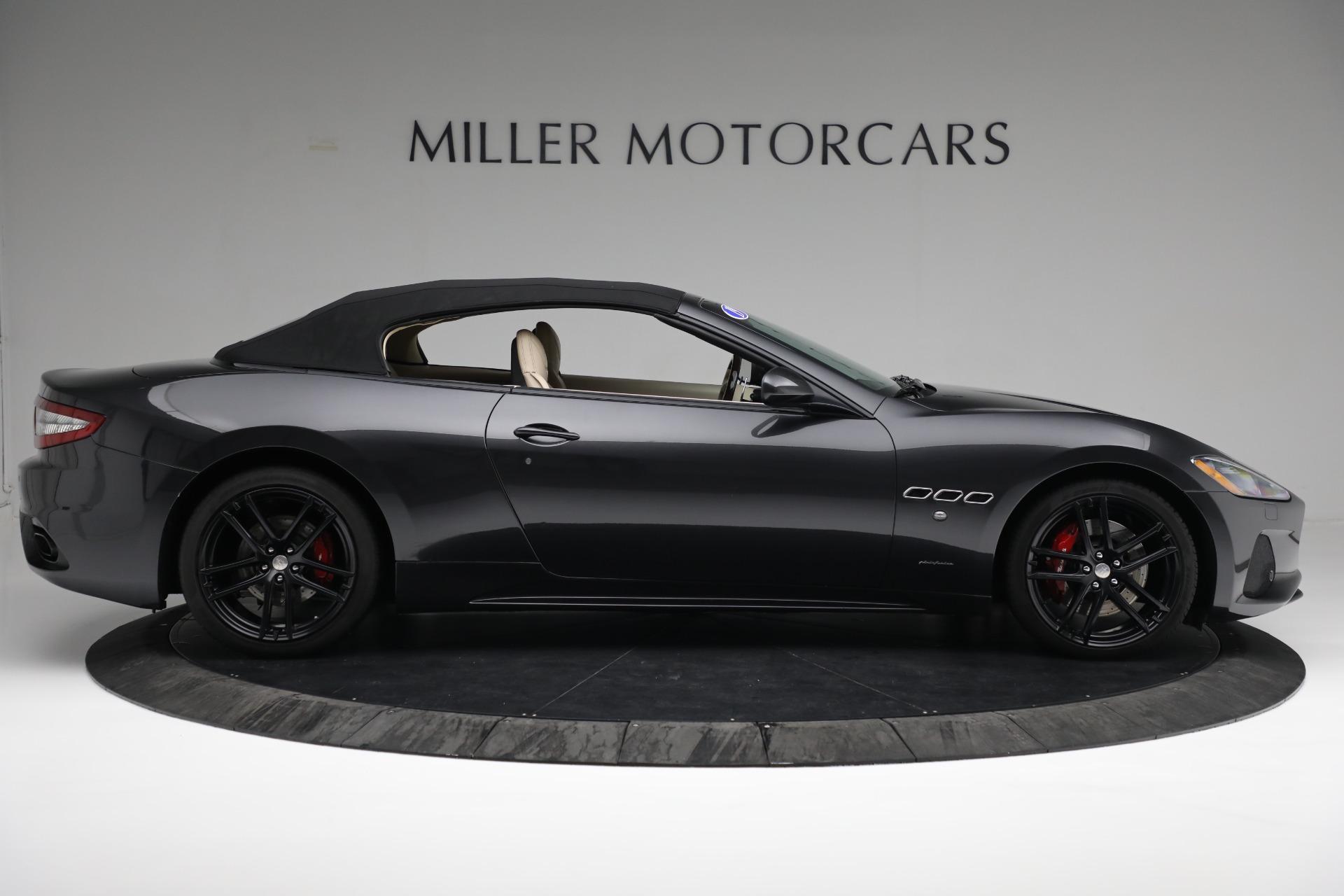 New 2019 Maserati GranTurismo Sport Convertible For Sale In Westport, CT 3040_p17