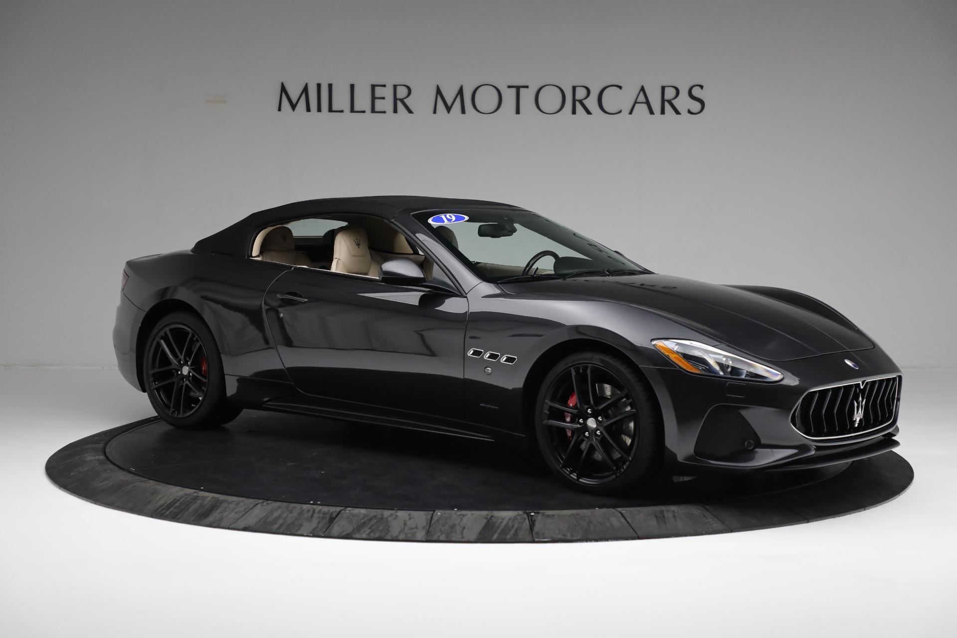 New 2019 Maserati GranTurismo Sport Convertible For Sale In Westport, CT 3040_p18