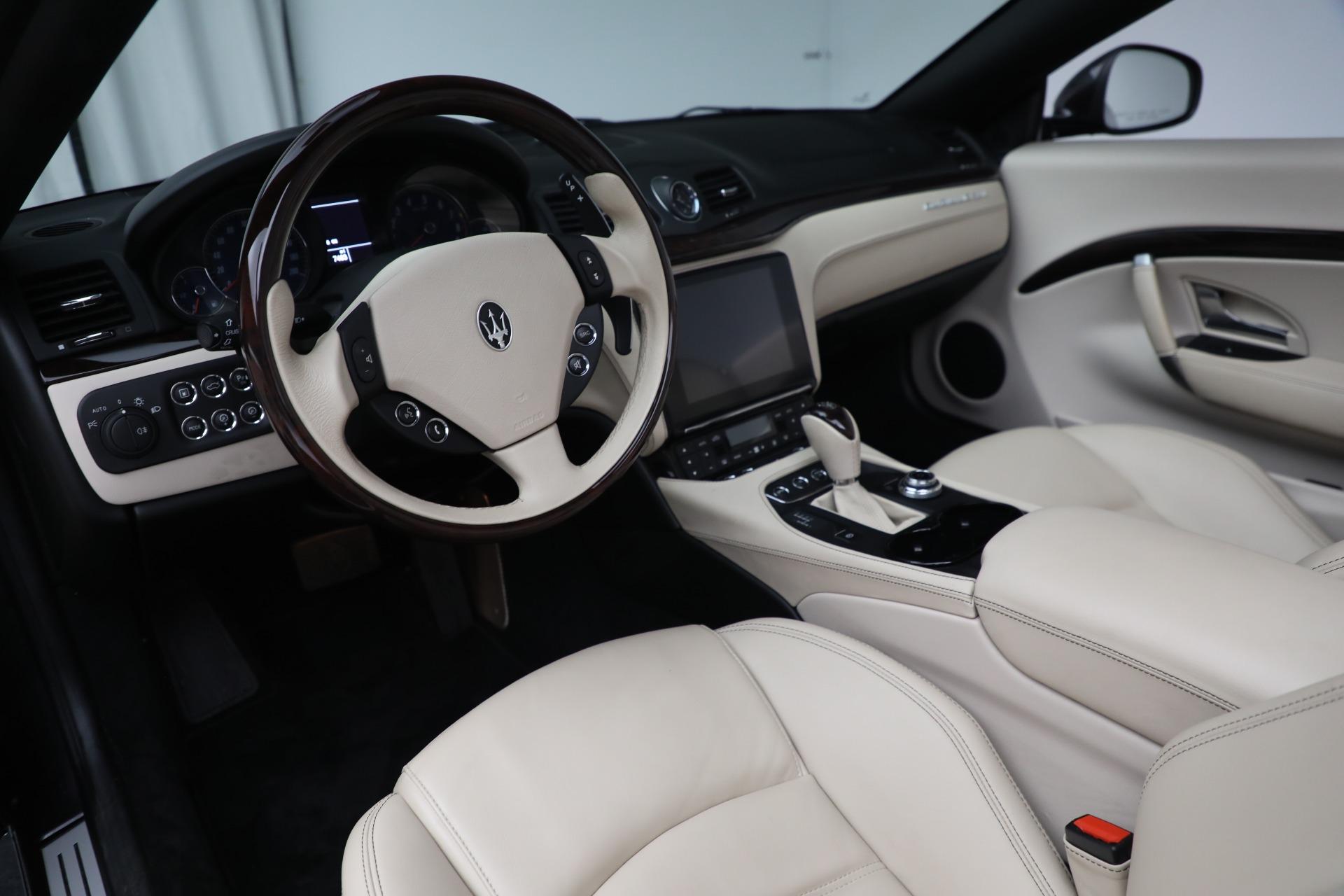 New 2019 Maserati GranTurismo Sport Convertible For Sale In Westport, CT 3040_p19