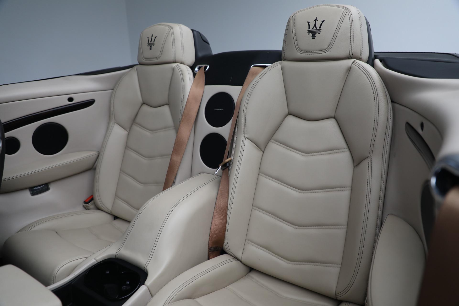 New 2019 Maserati GranTurismo Sport Convertible For Sale In Westport, CT 3040_p27