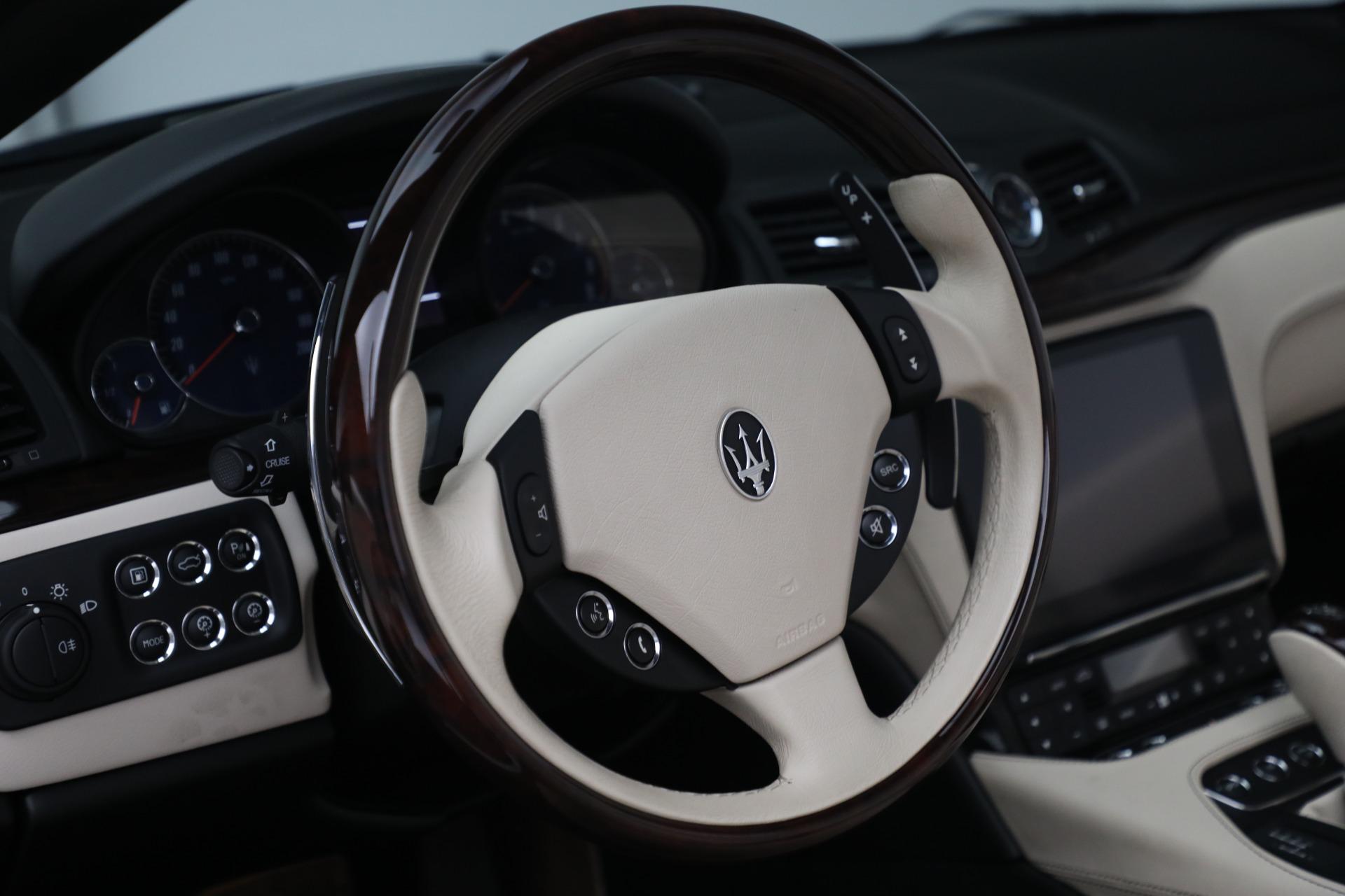 New 2019 Maserati GranTurismo Sport Convertible For Sale In Westport, CT 3040_p31