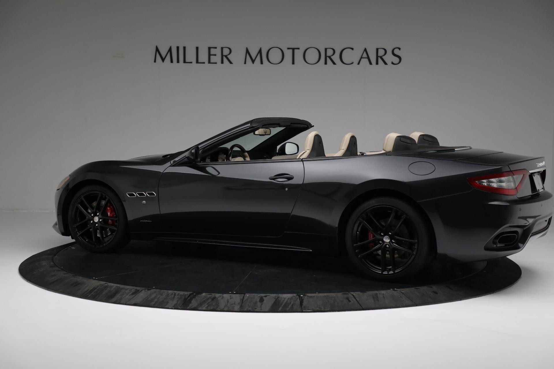 New 2019 Maserati GranTurismo Sport Convertible For Sale In Westport, CT 3040_p4