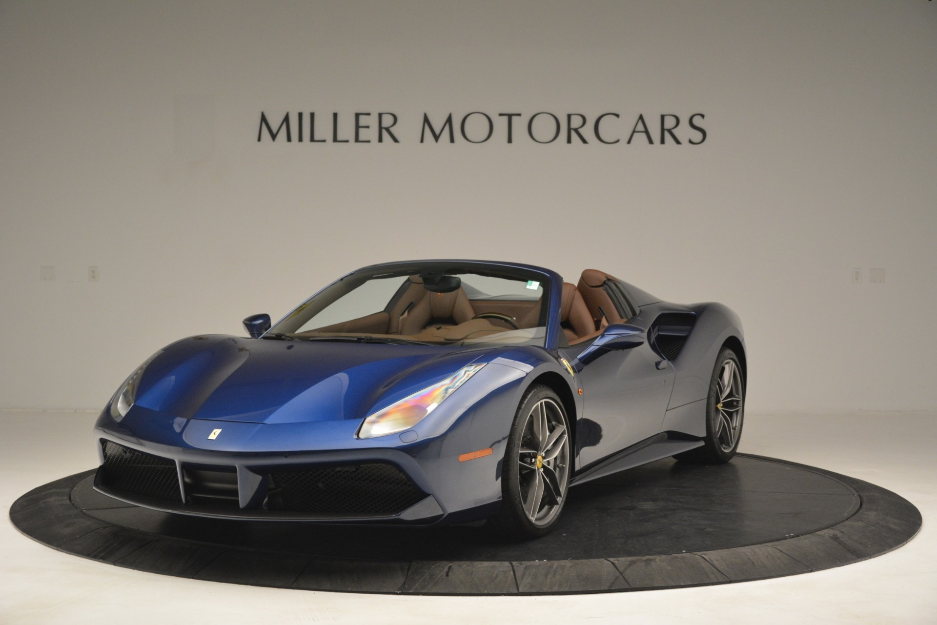Used 2018 Ferrari 488 Spider  For Sale In Westport, CT 3045_main