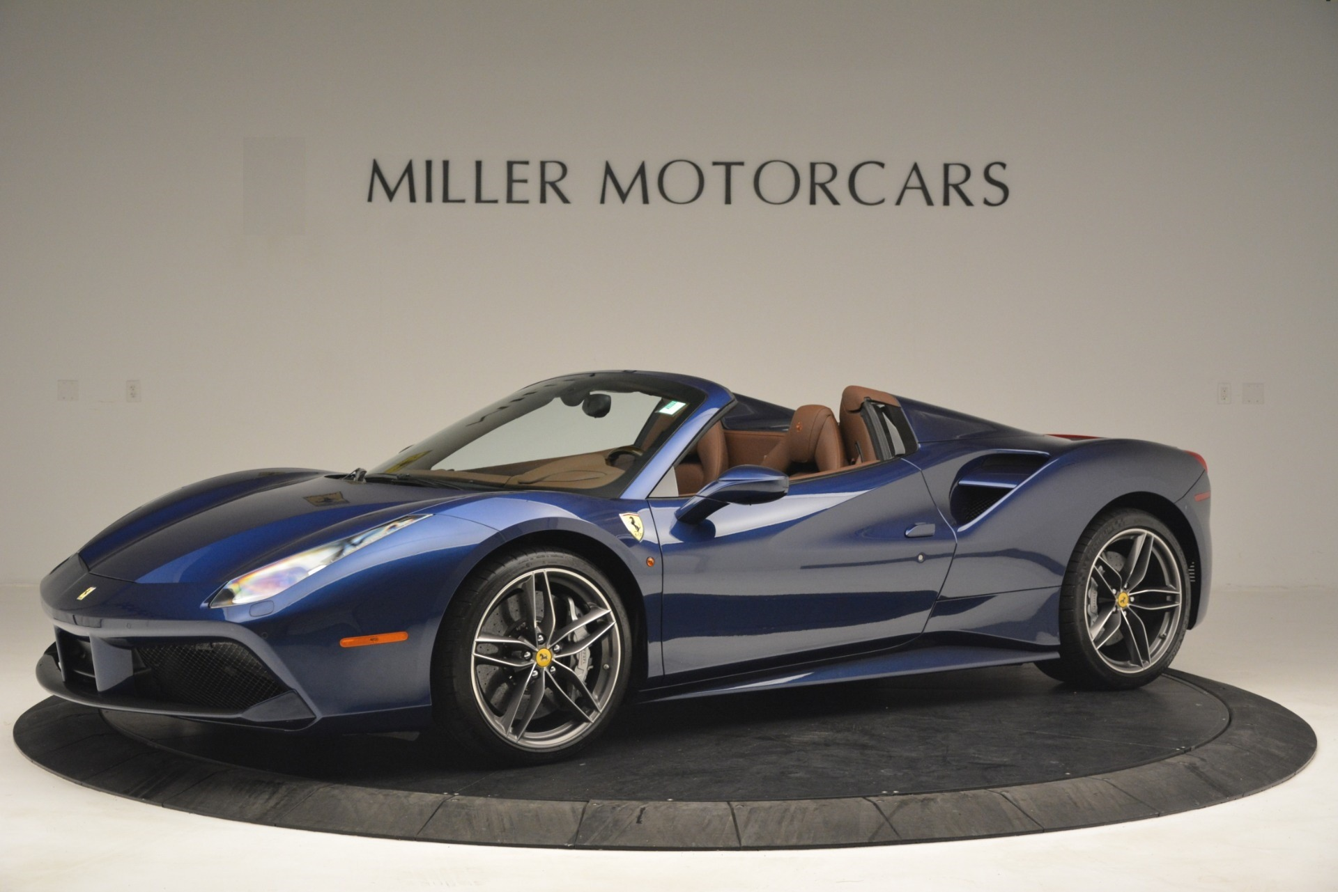 Used 2018 Ferrari 488 Spider  For Sale In Westport, CT 3045_p2
