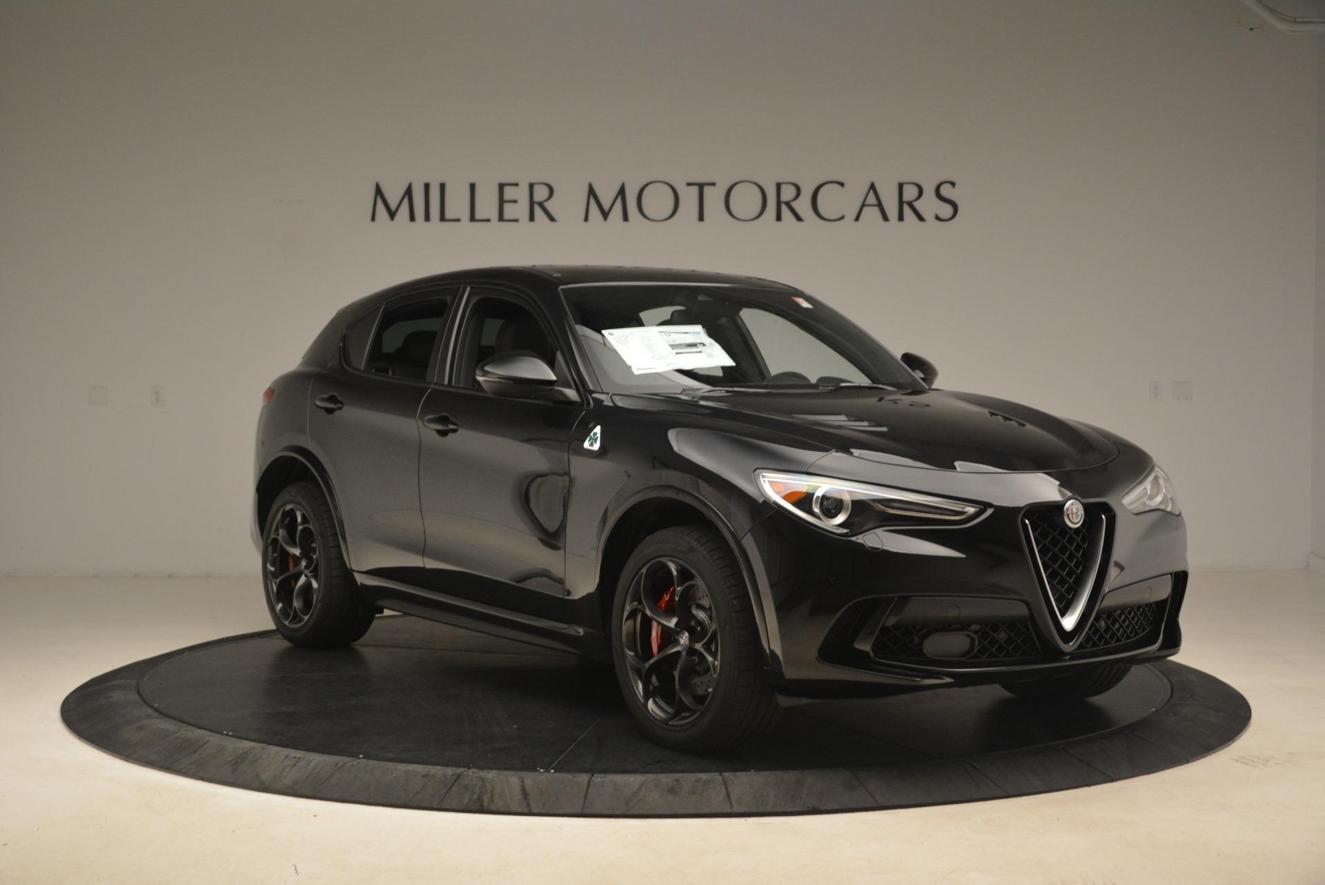 New 2019 Alfa Romeo Stelvio Quadrifoglio For Sale In Westport, CT 3049_p11