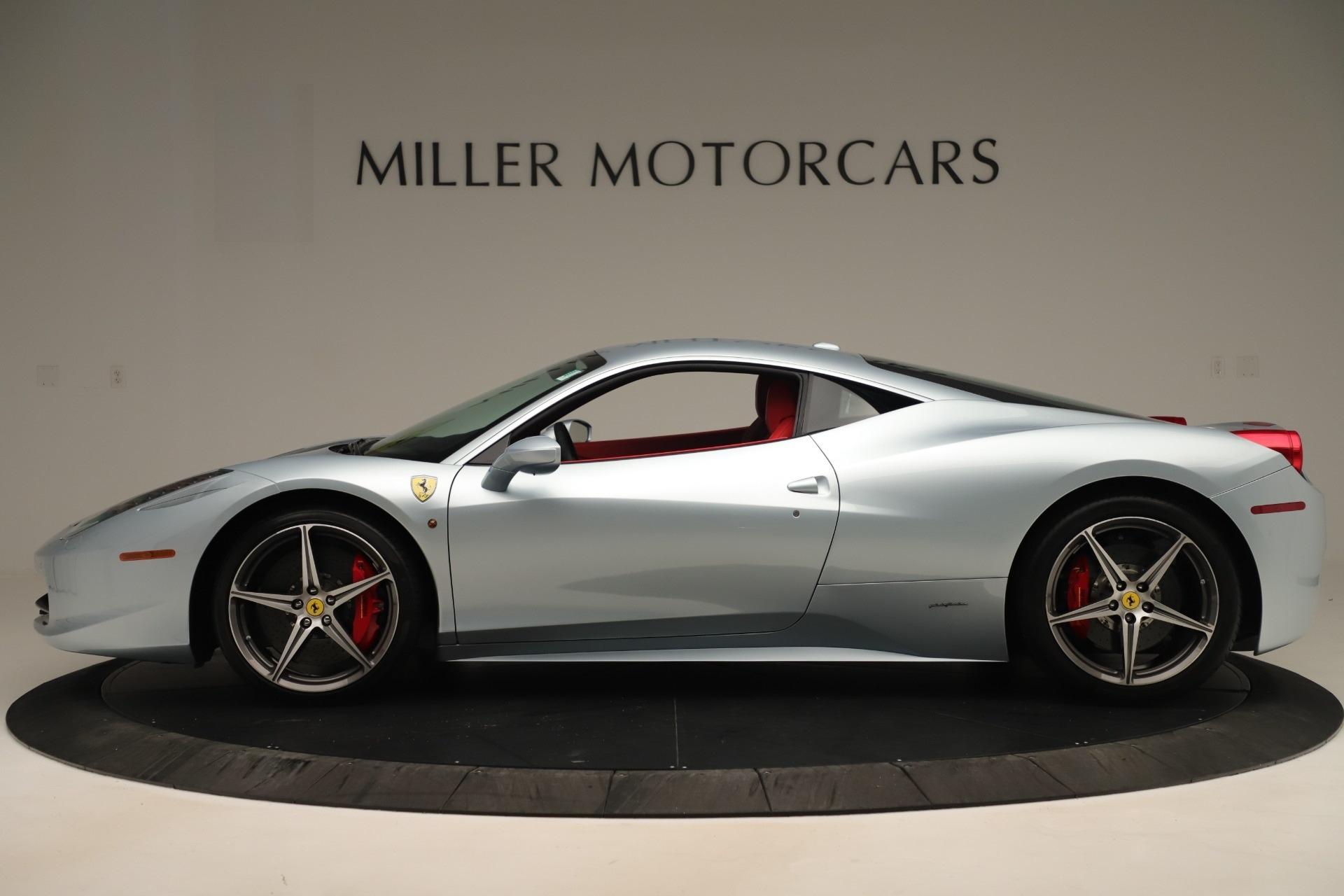 Used 2015 Ferrari 458 Italia  For Sale In Westport, CT 3052_p3