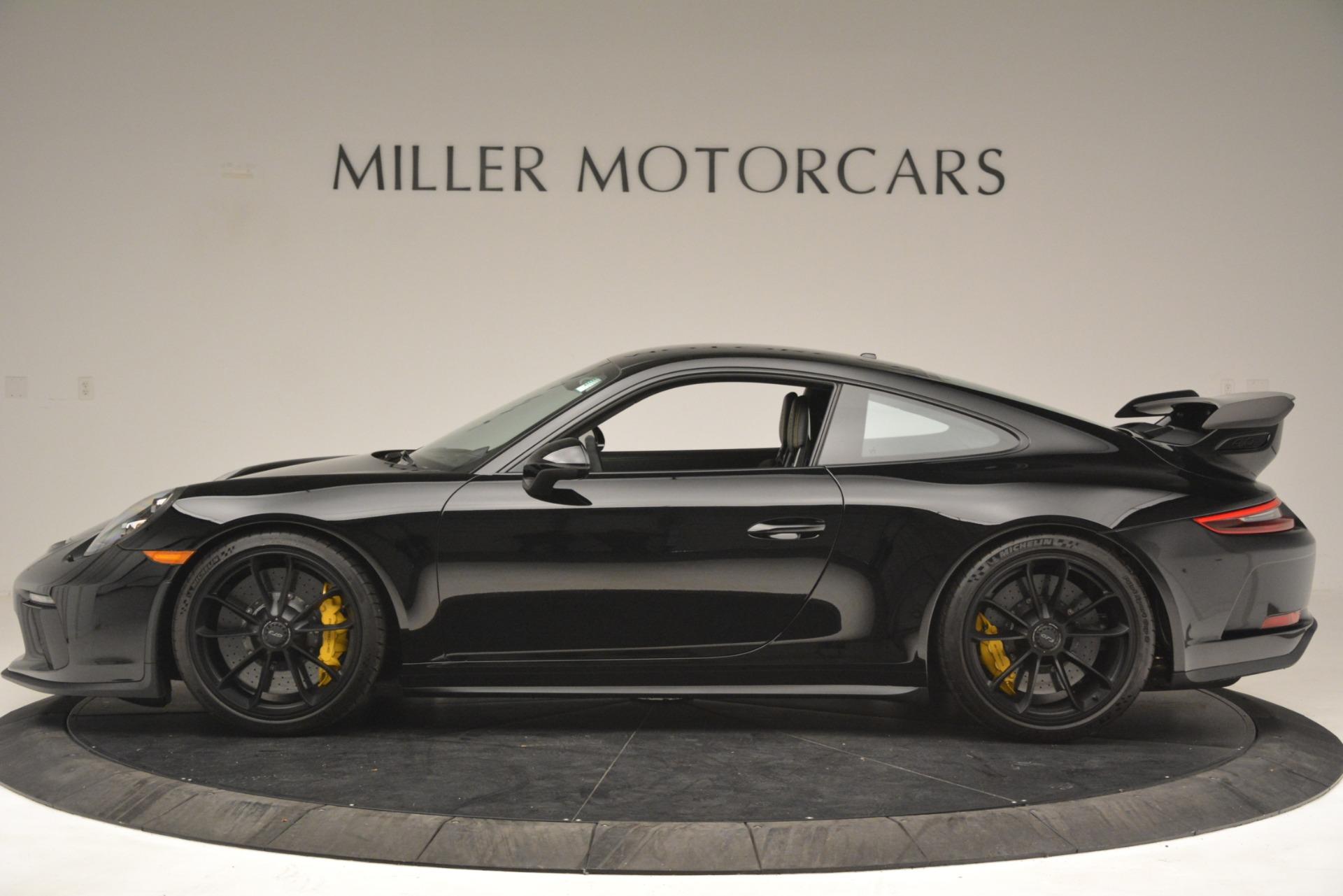 Used 2018 Porsche 911 GT3 For Sale In Westport, CT 3056_p2