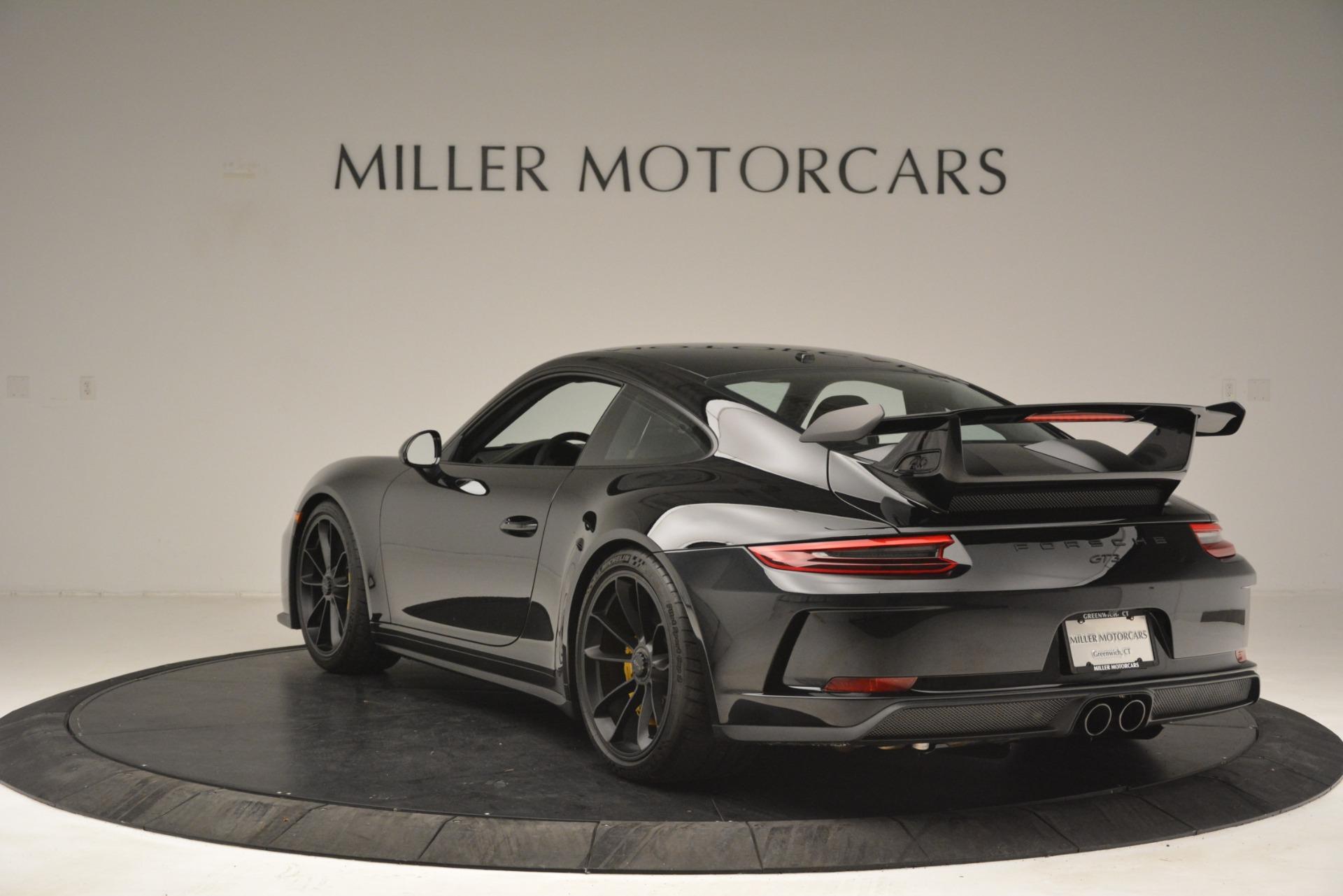 Used 2018 Porsche 911 GT3 For Sale In Westport, CT 3056_p4
