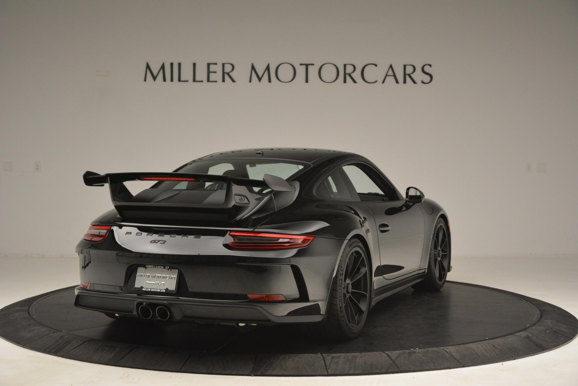 Used 2018 Porsche 911 GT3 For Sale In Westport, CT 3056_p7