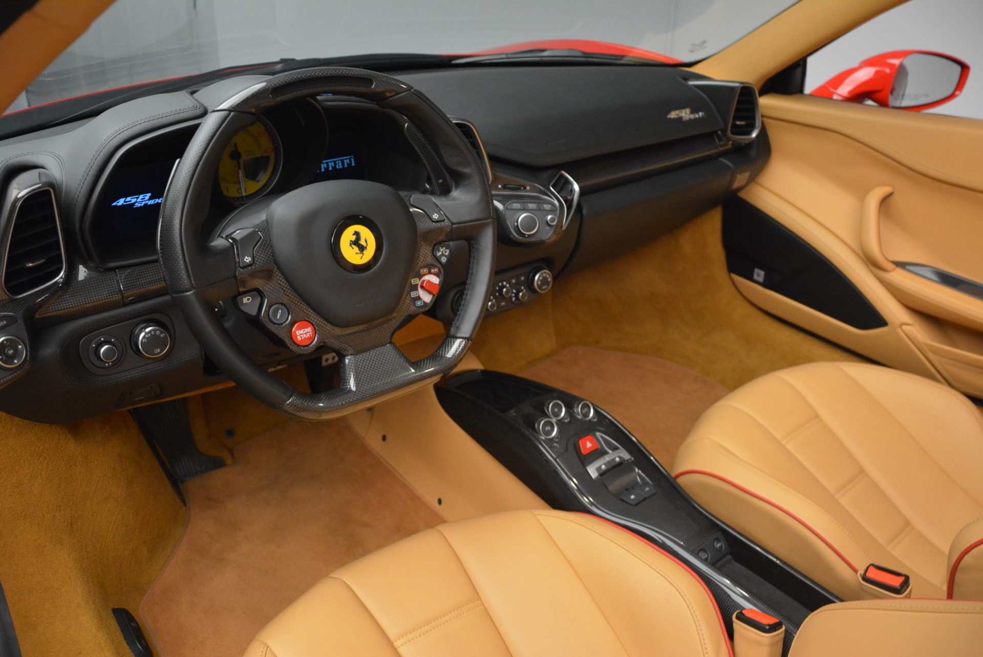 Used 2013 Ferrari 458 Spider  For Sale In Westport, CT 3057_p29