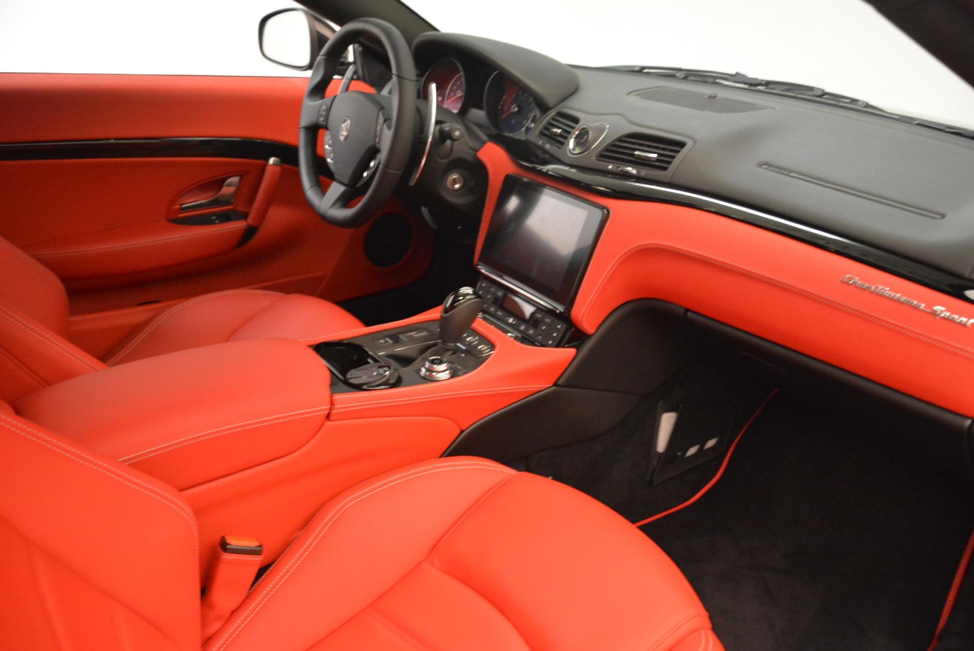 New 2018 Maserati GranTurismo Sport For Sale In Westport, CT 3059_p19