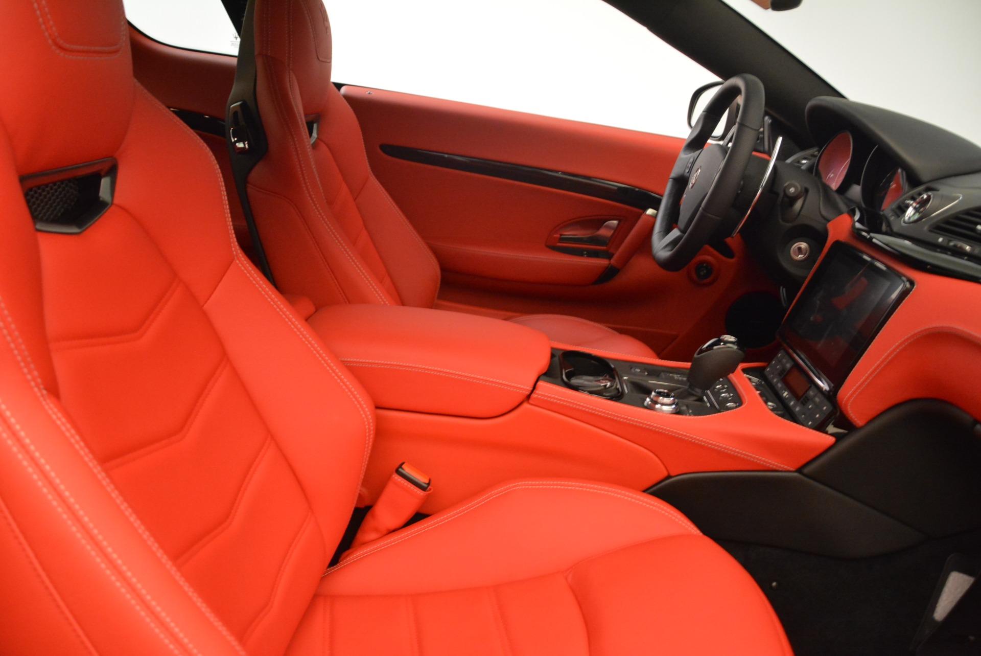 New 2018 Maserati GranTurismo Sport For Sale In Westport, CT 3059_p20