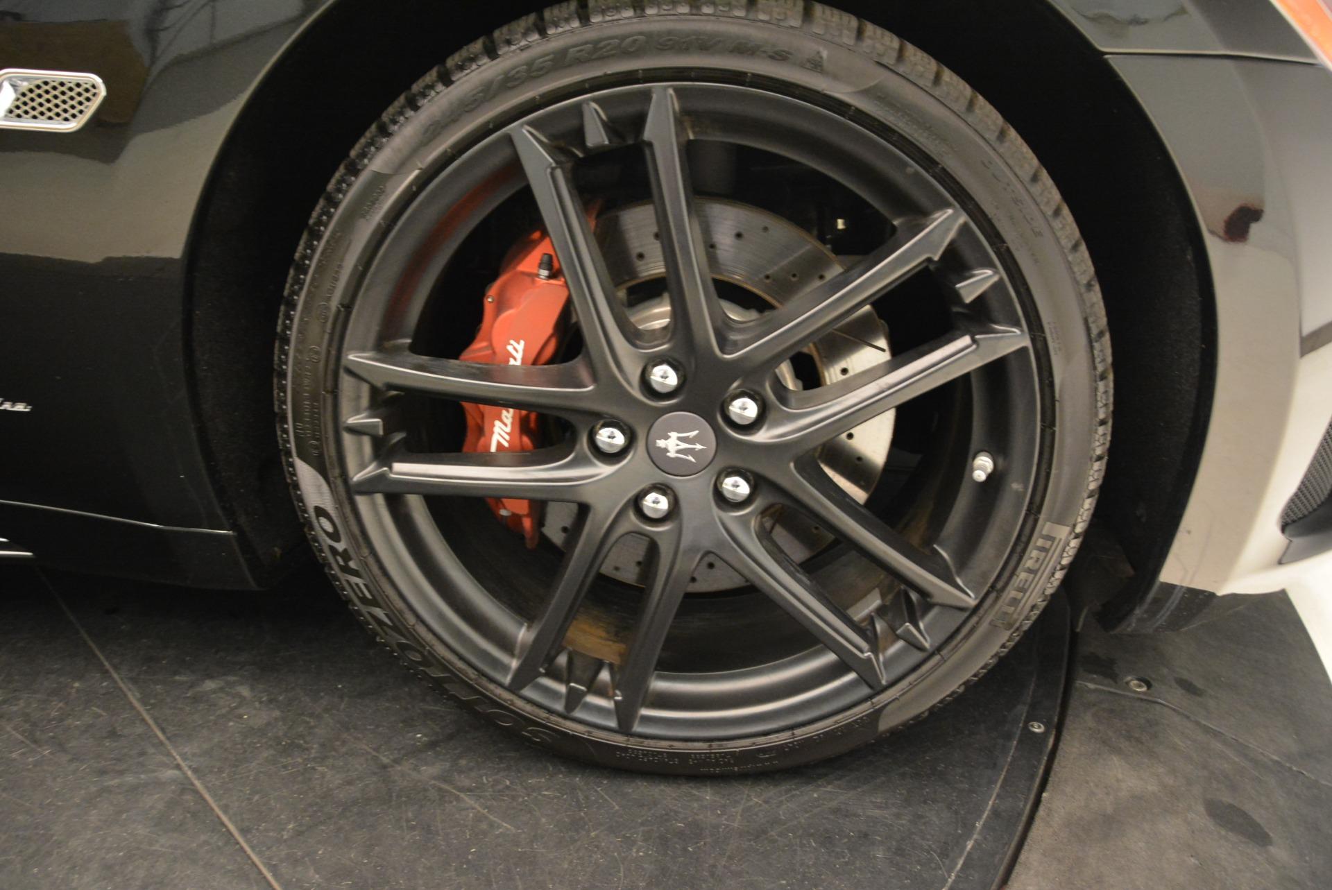 New 2018 Maserati GranTurismo Sport For Sale In Westport, CT 3059_p24