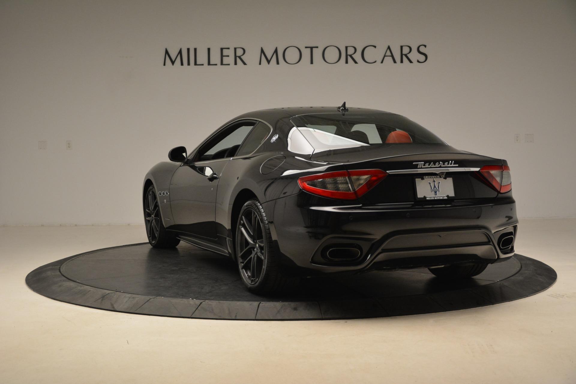 New 2018 Maserati GranTurismo Sport For Sale In Westport, CT 3059_p4