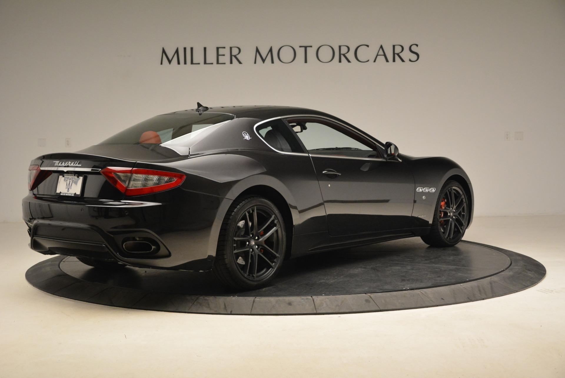 New 2018 Maserati GranTurismo Sport For Sale In Westport, CT 3059_p7