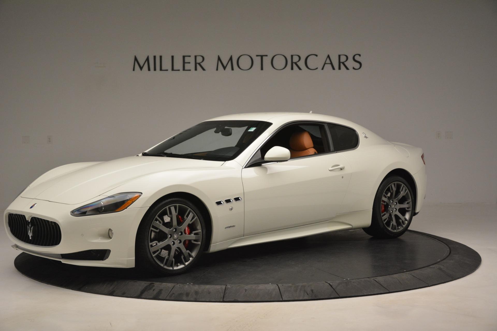 Used 2011 Maserati GranTurismo S Automatic For Sale In Westport, CT 3061_p2