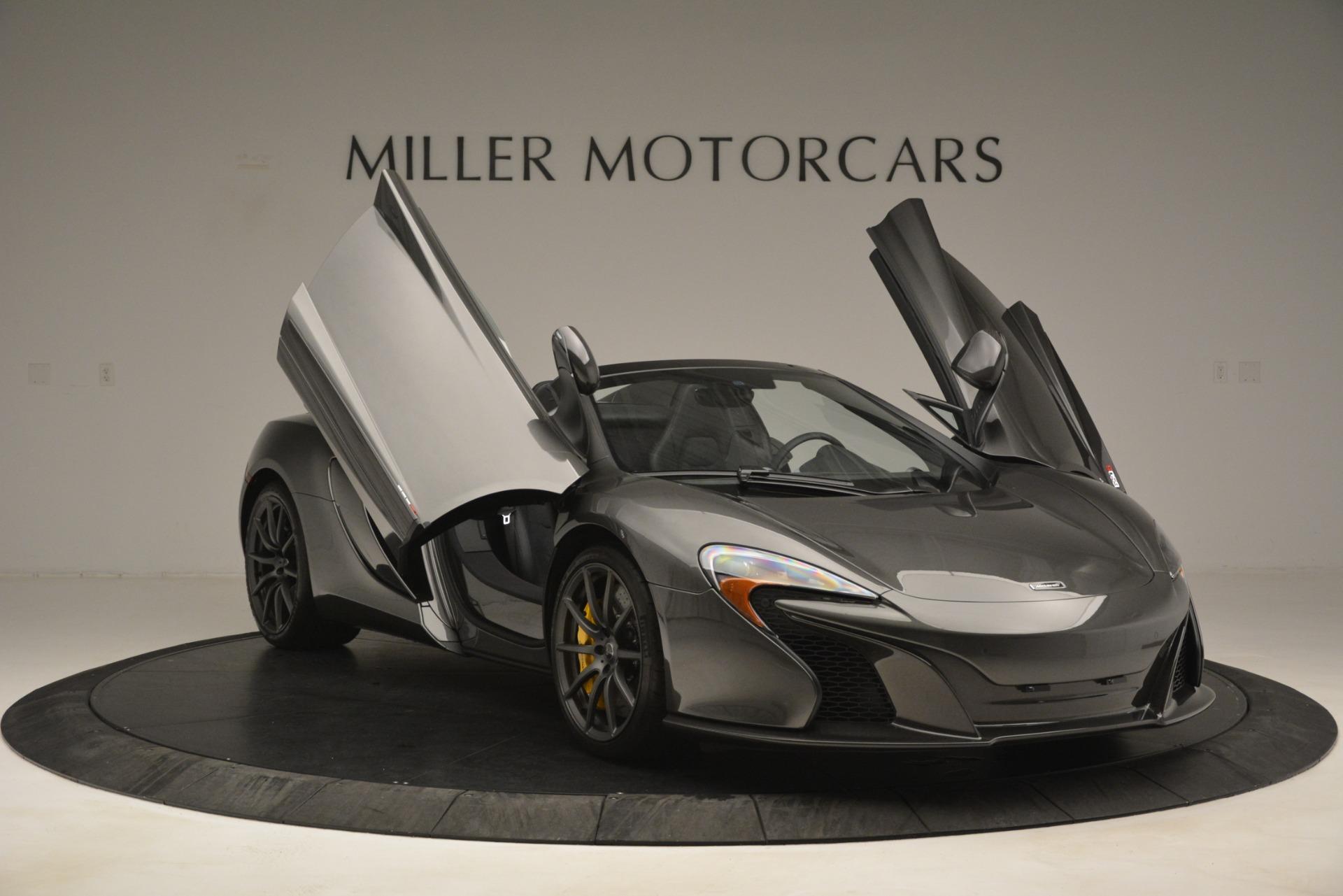 Used 2016 McLaren 650S Spider Convertible For Sale In Westport, CT 3062_p12