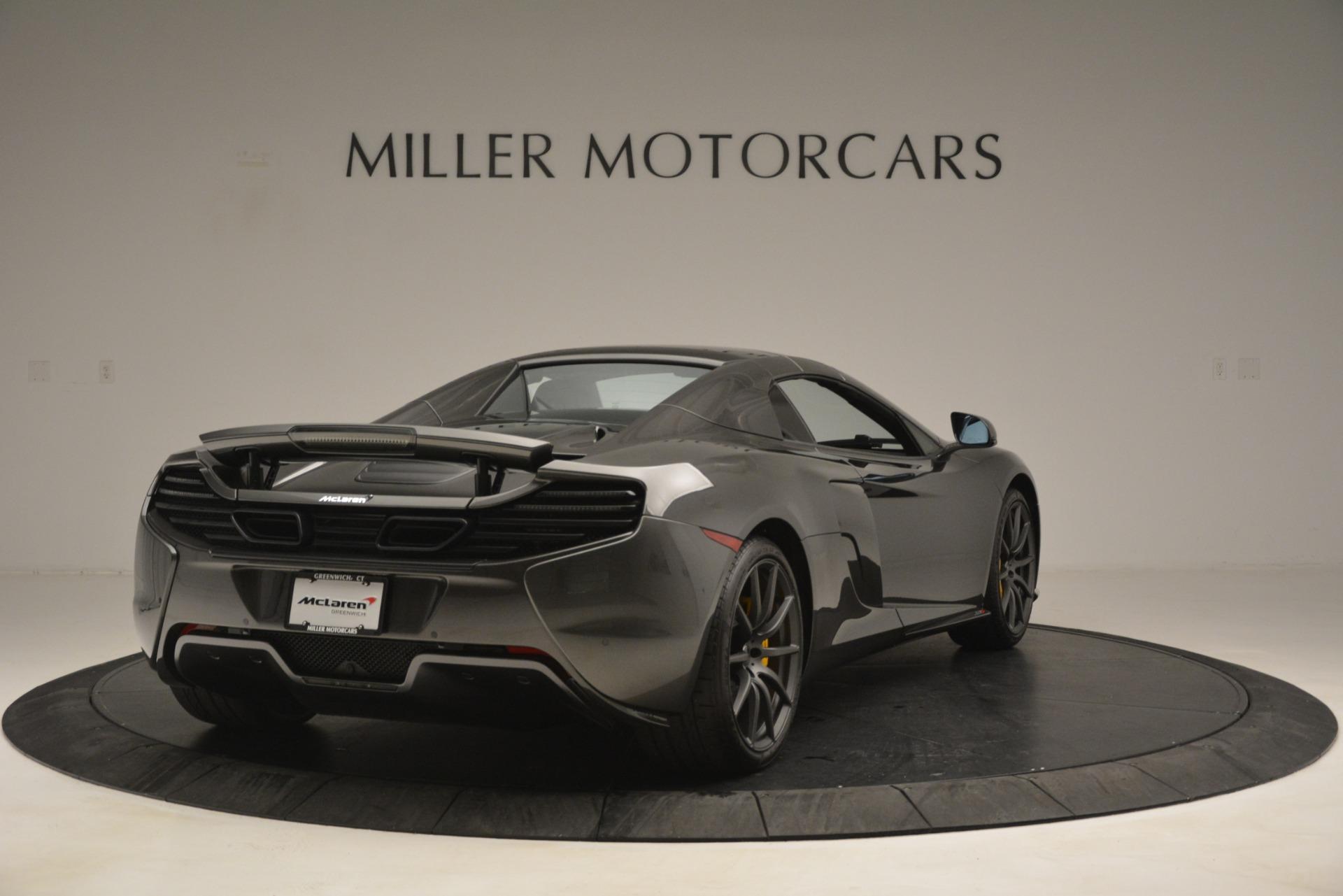 Used 2016 McLaren 650S Spider Convertible For Sale In Westport, CT 3062_p18