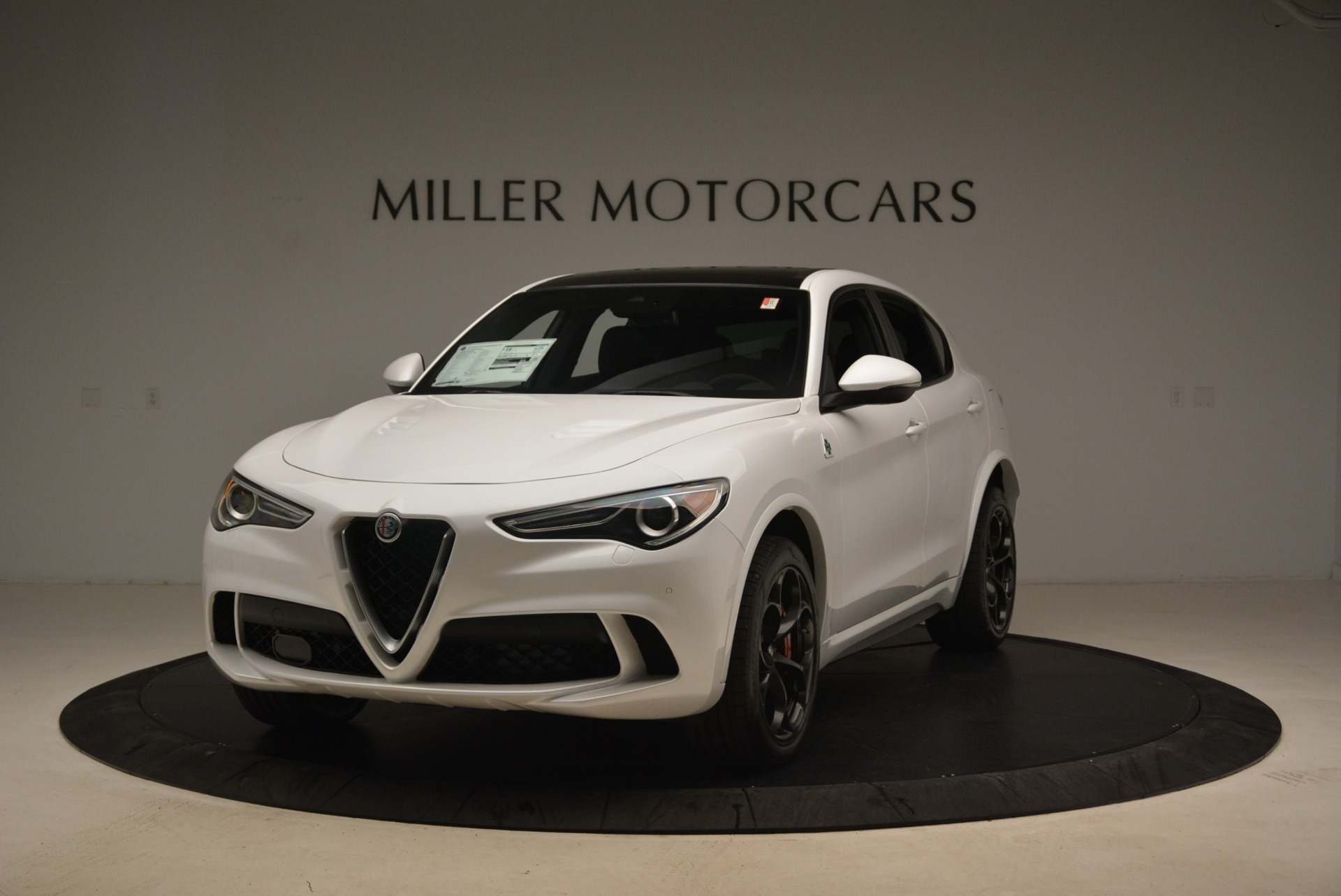 New 2019 Alfa Romeo Stelvio Quadrifoglio For Sale In Westport, CT 3065_main