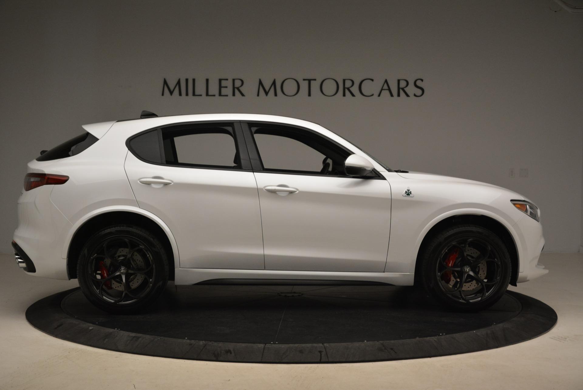 New 2019 Alfa Romeo Stelvio Quadrifoglio For Sale In Westport, CT 3065_p9
