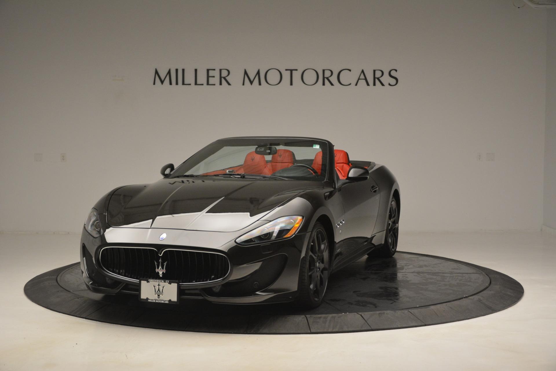 Used 2014 Maserati GranTurismo Sport For Sale In Westport, CT 3066_main