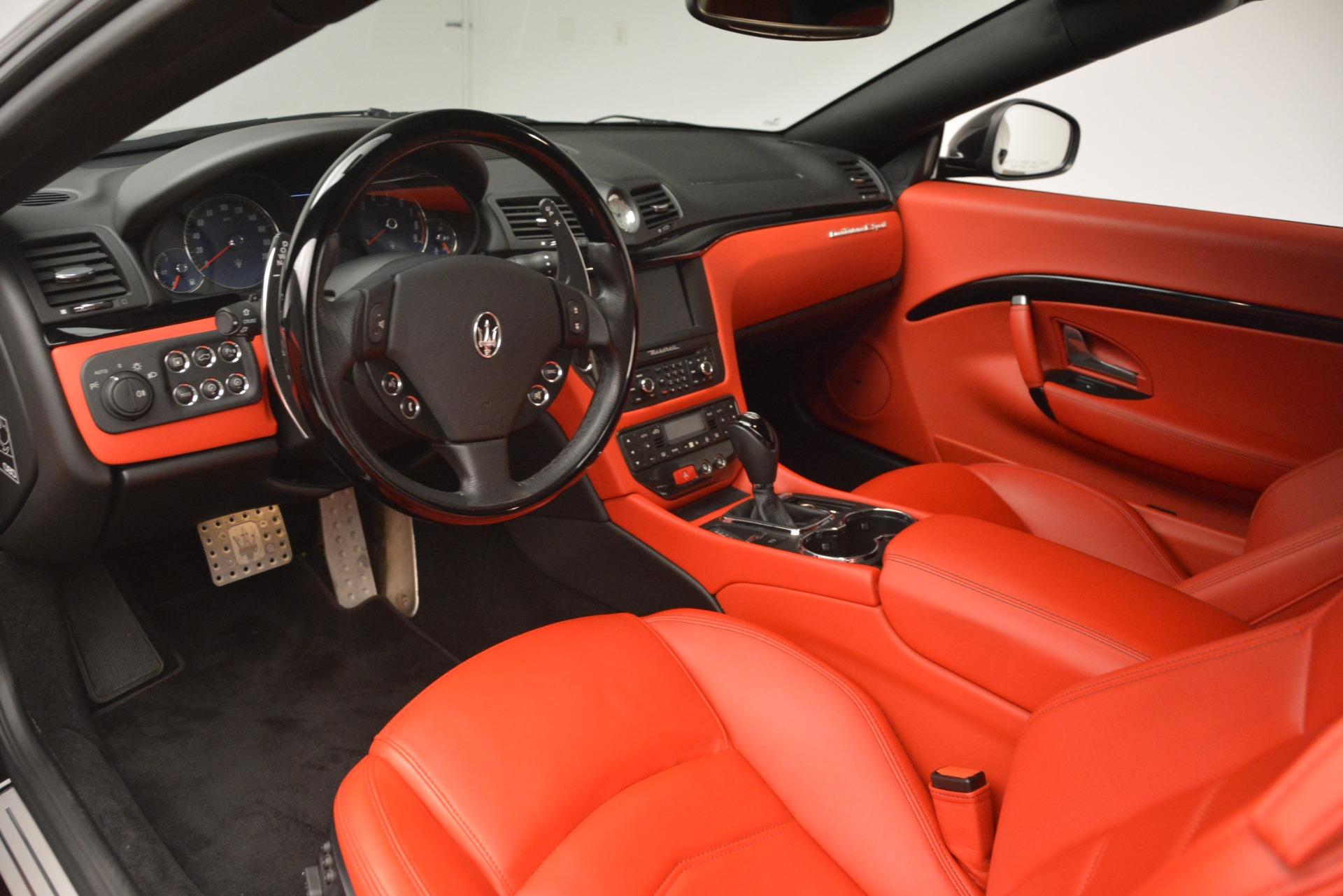 Used 2014 Maserati GranTurismo Sport For Sale In Westport, CT 3066_p19