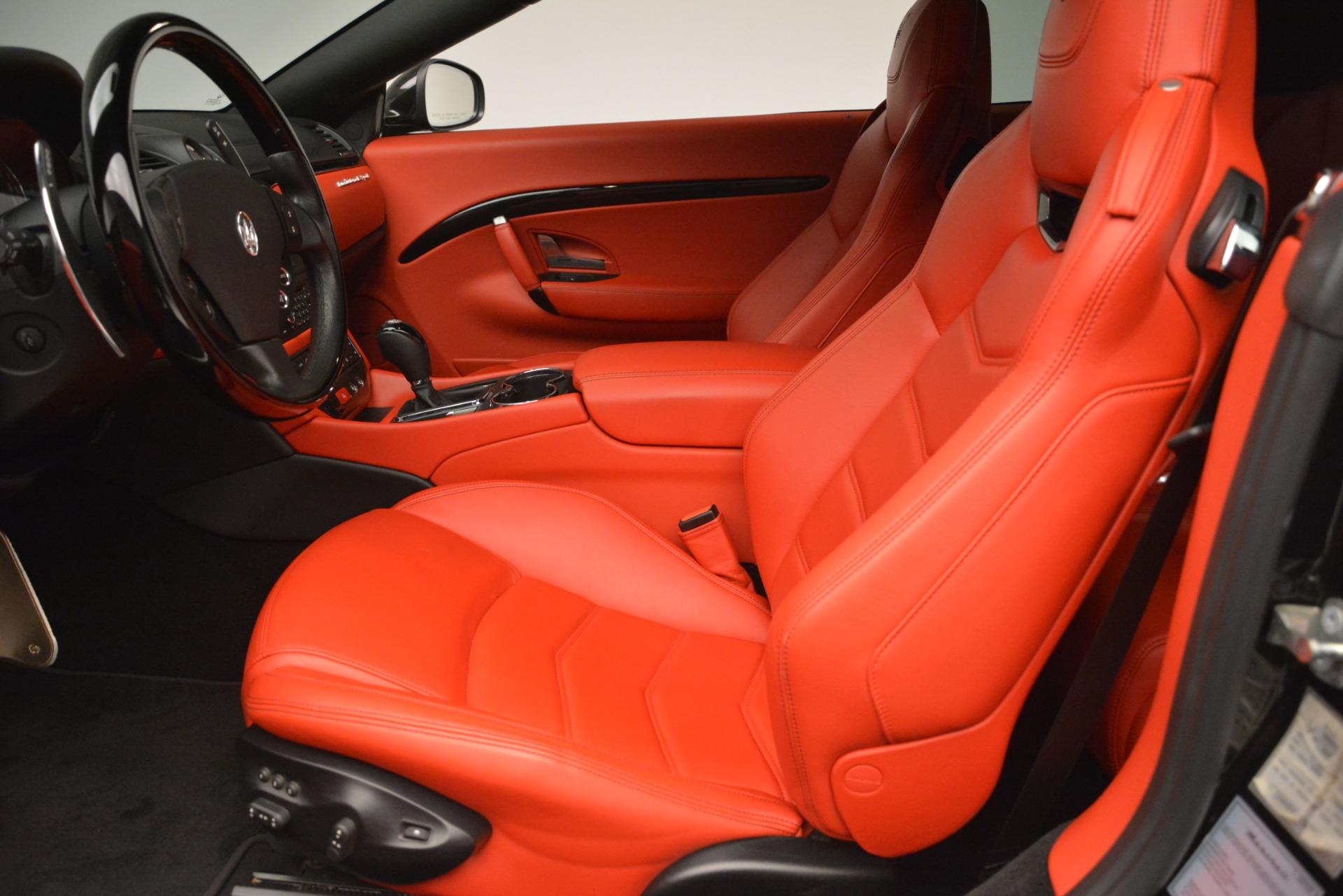 Used 2014 Maserati GranTurismo Sport For Sale In Westport, CT 3066_p20