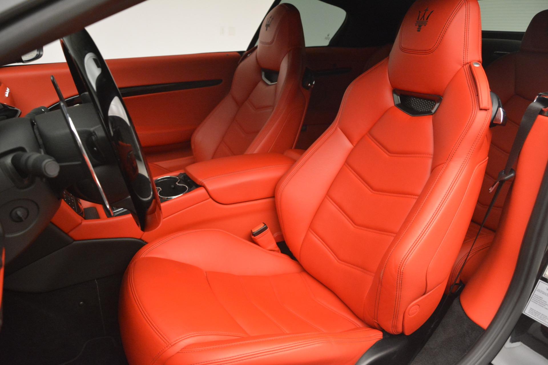 Used 2014 Maserati GranTurismo Sport For Sale In Westport, CT 3066_p21
