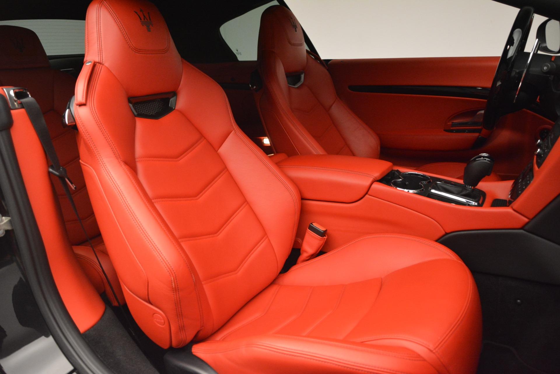 Used 2014 Maserati GranTurismo Sport For Sale In Westport, CT 3066_p24