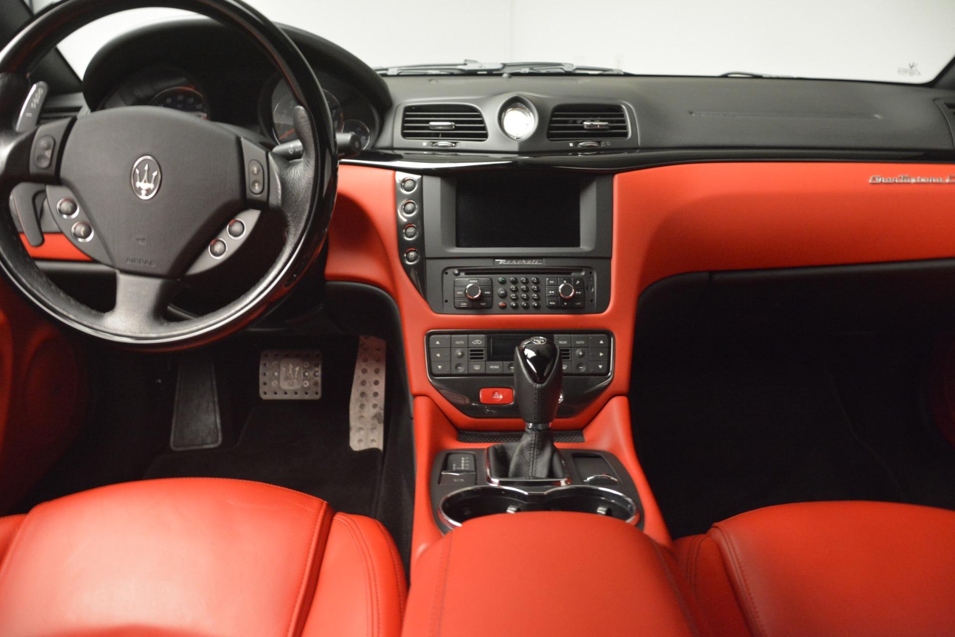 Used 2014 Maserati GranTurismo Sport For Sale In Westport, CT 3066_p26