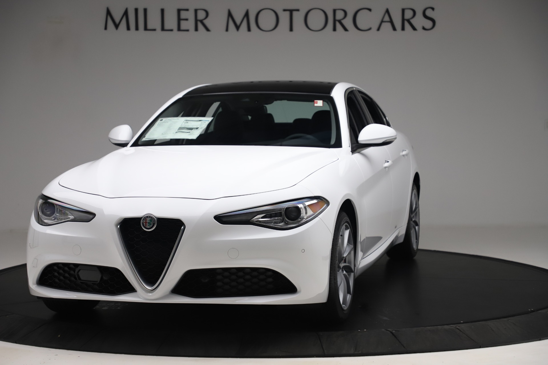 New 2019 Alfa Romeo Giulia Q4 For Sale In Westport, CT 3071_main