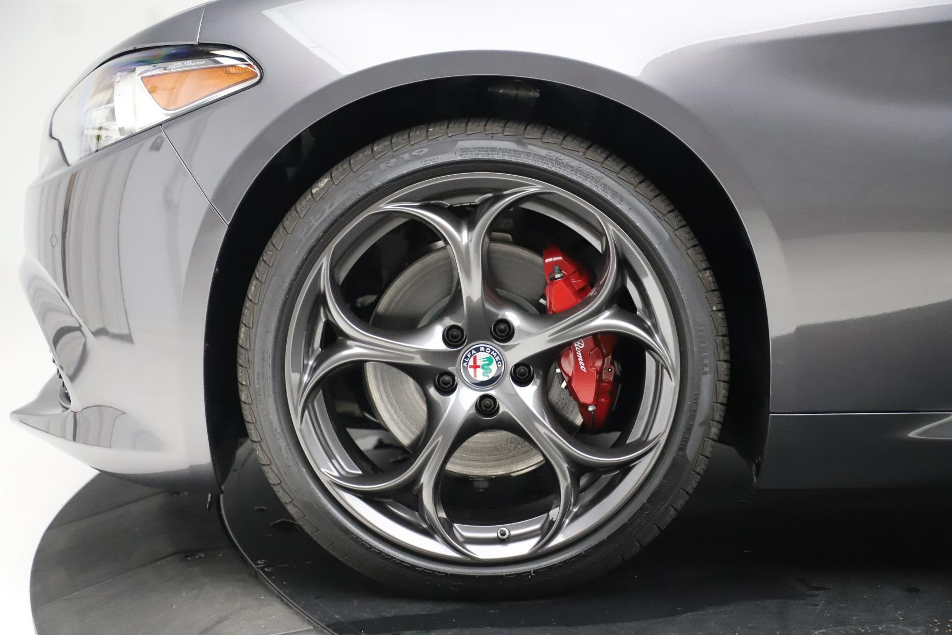 New 2019 Alfa Romeo Giulia Ti Sport Q4 For Sale In Westport, CT 3074_p30