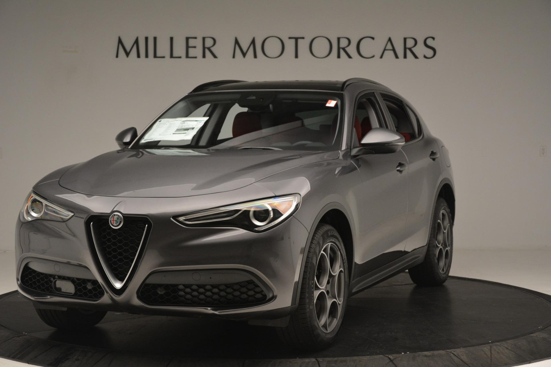 New 2019 Alfa Romeo Stelvio Sport Q4 For Sale In Westport, CT 3075_main