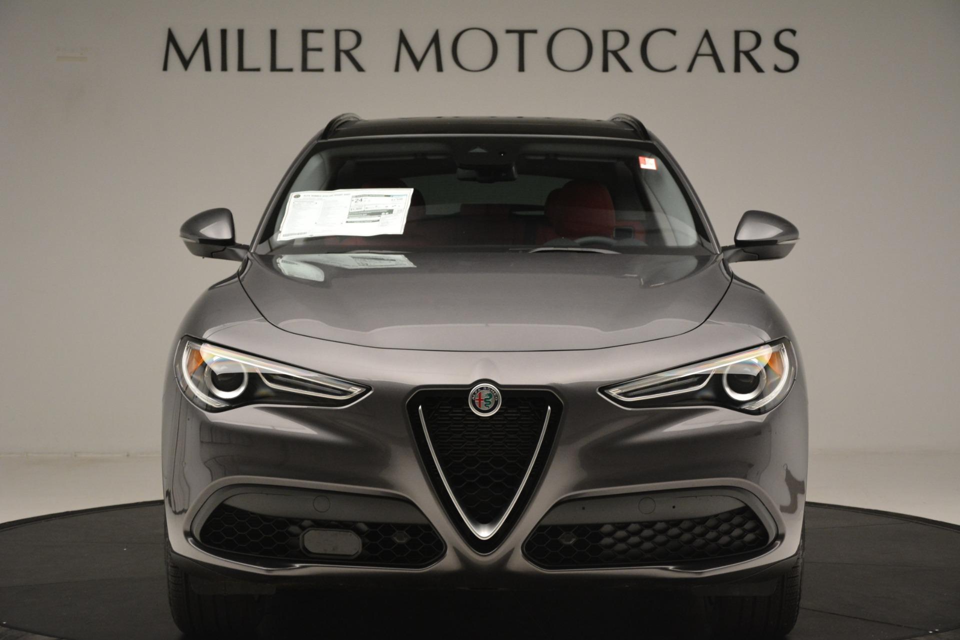 New 2019 Alfa Romeo Stelvio Sport Q4 For Sale In Westport, CT 3075_p12