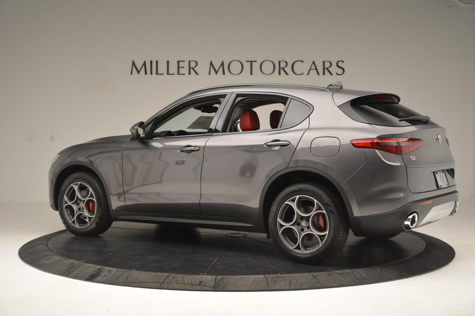 New 2019 Alfa Romeo Stelvio Sport Q4 For Sale In Westport, CT 3075_p4