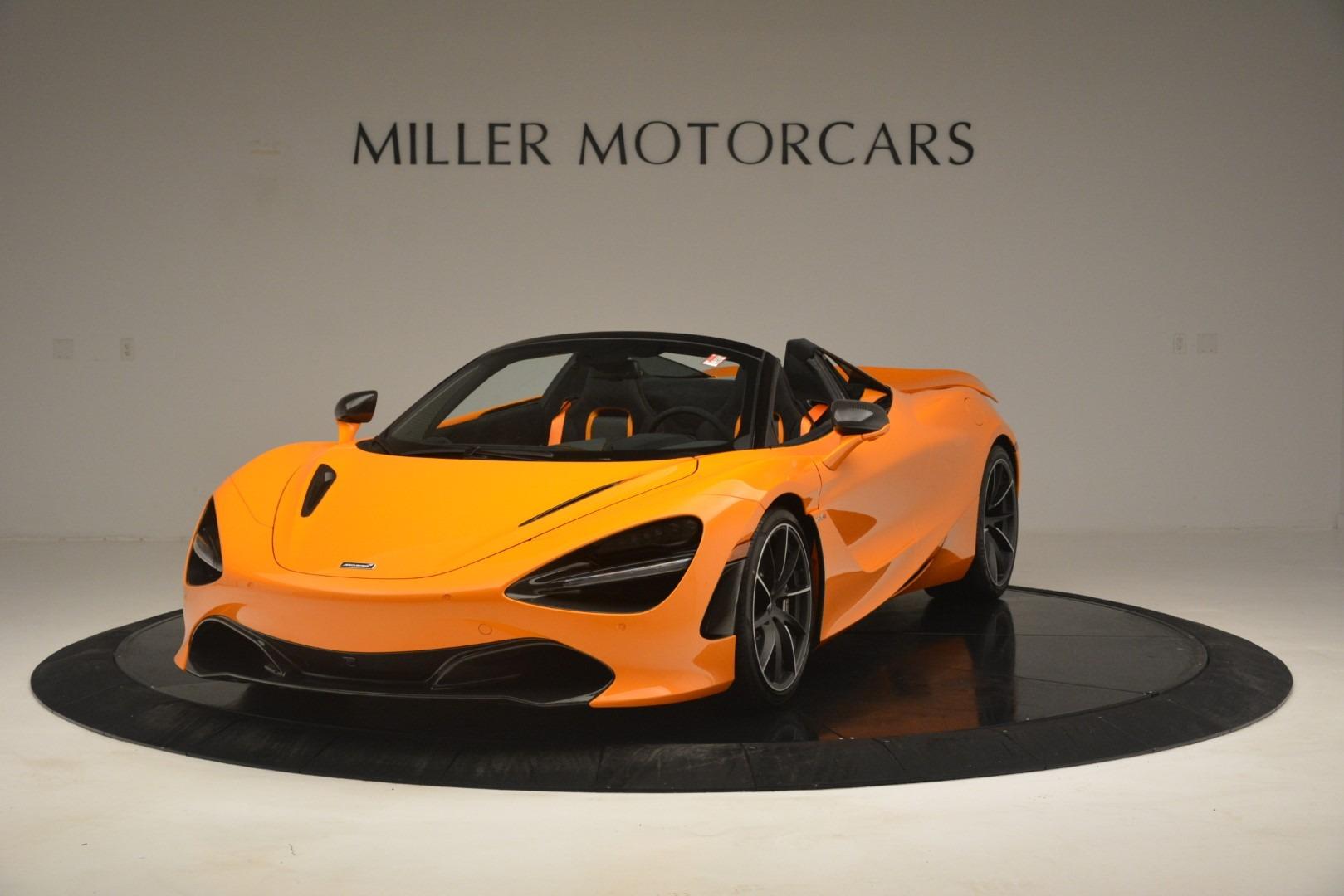 New 2020 McLaren 720S Spider Convertible For Sale In Westport, CT 3080_main
