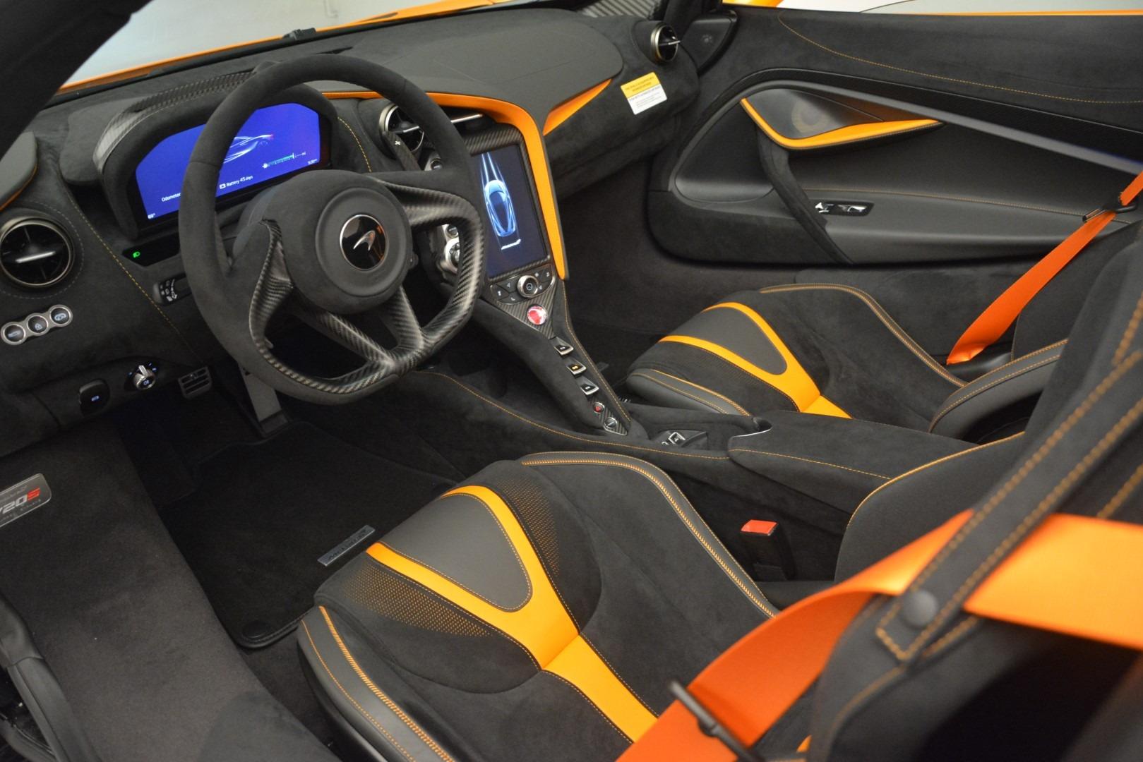 New 2020 McLaren 720S Spider Convertible For Sale In Westport, CT 3080_p24